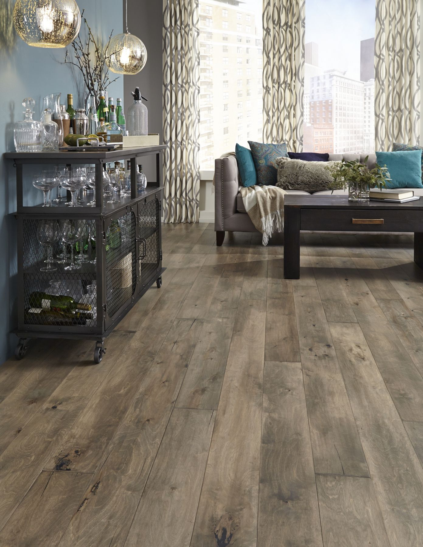 Hot Product Pick--Iberian Hazelwood, a rustic, refined hardwood ...