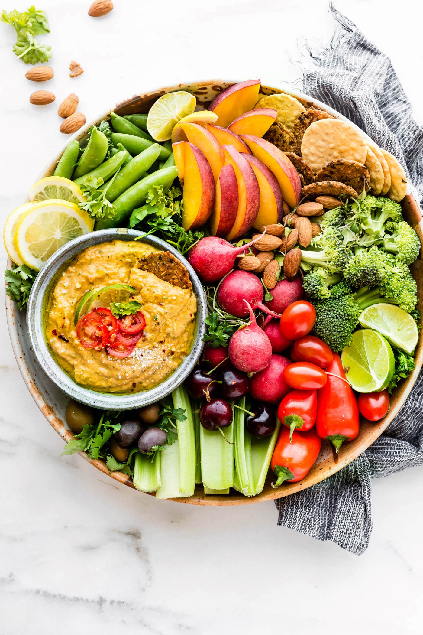 Spicy Mango Avocado Yogurt Dip {Vegetarian} | Cotter Crunch