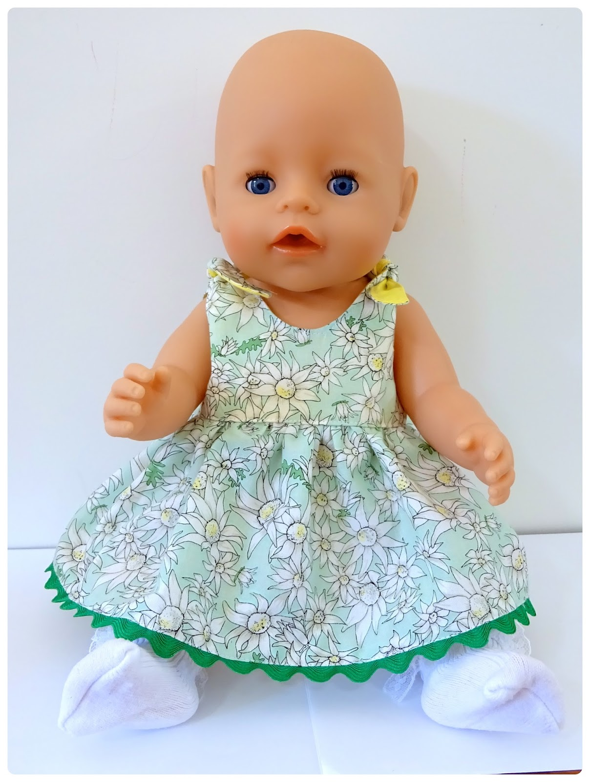Doll Clothes Patterns by Valspierssews: Doll Style: The Baby Doll