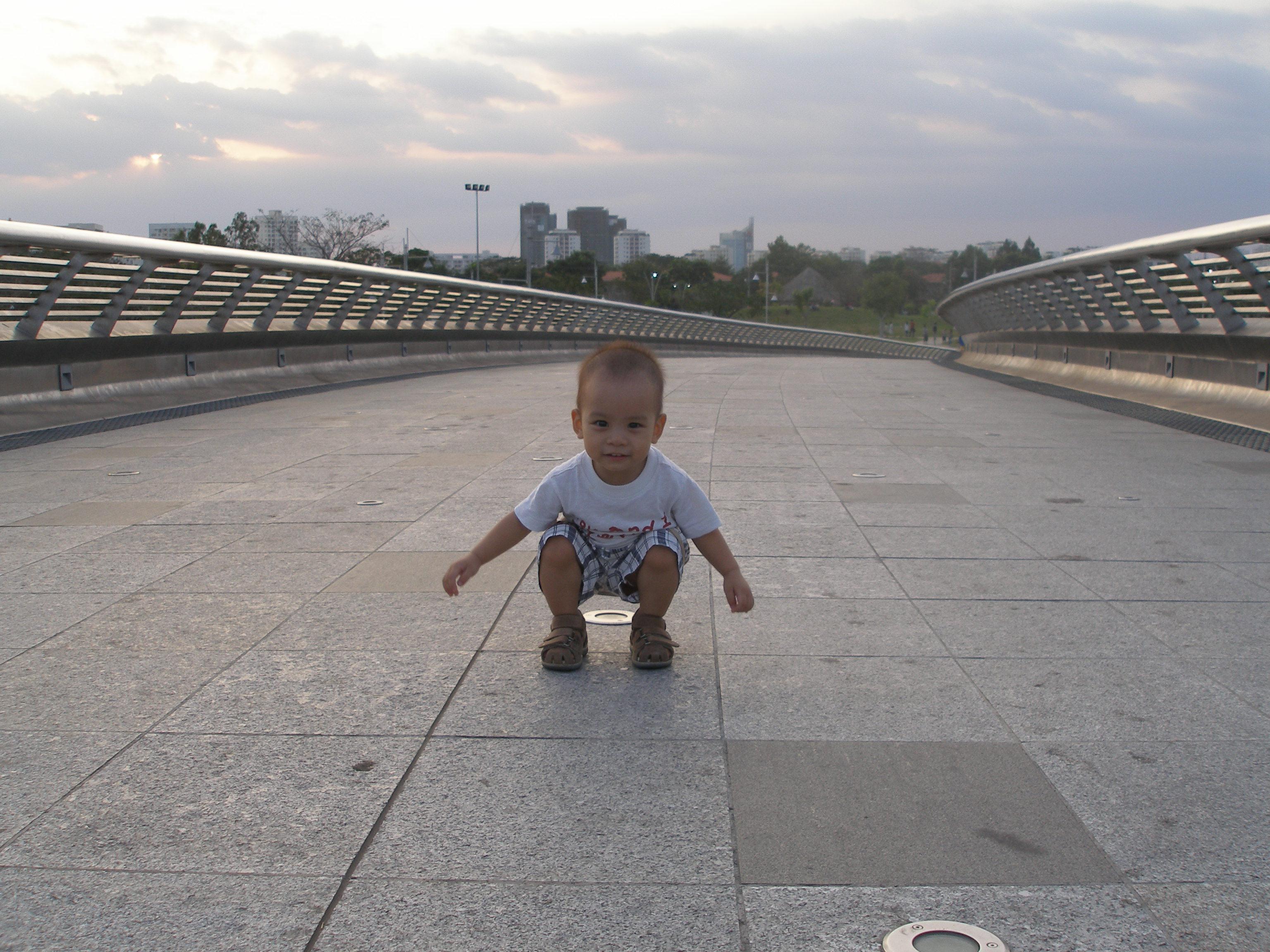 Baby fun photo