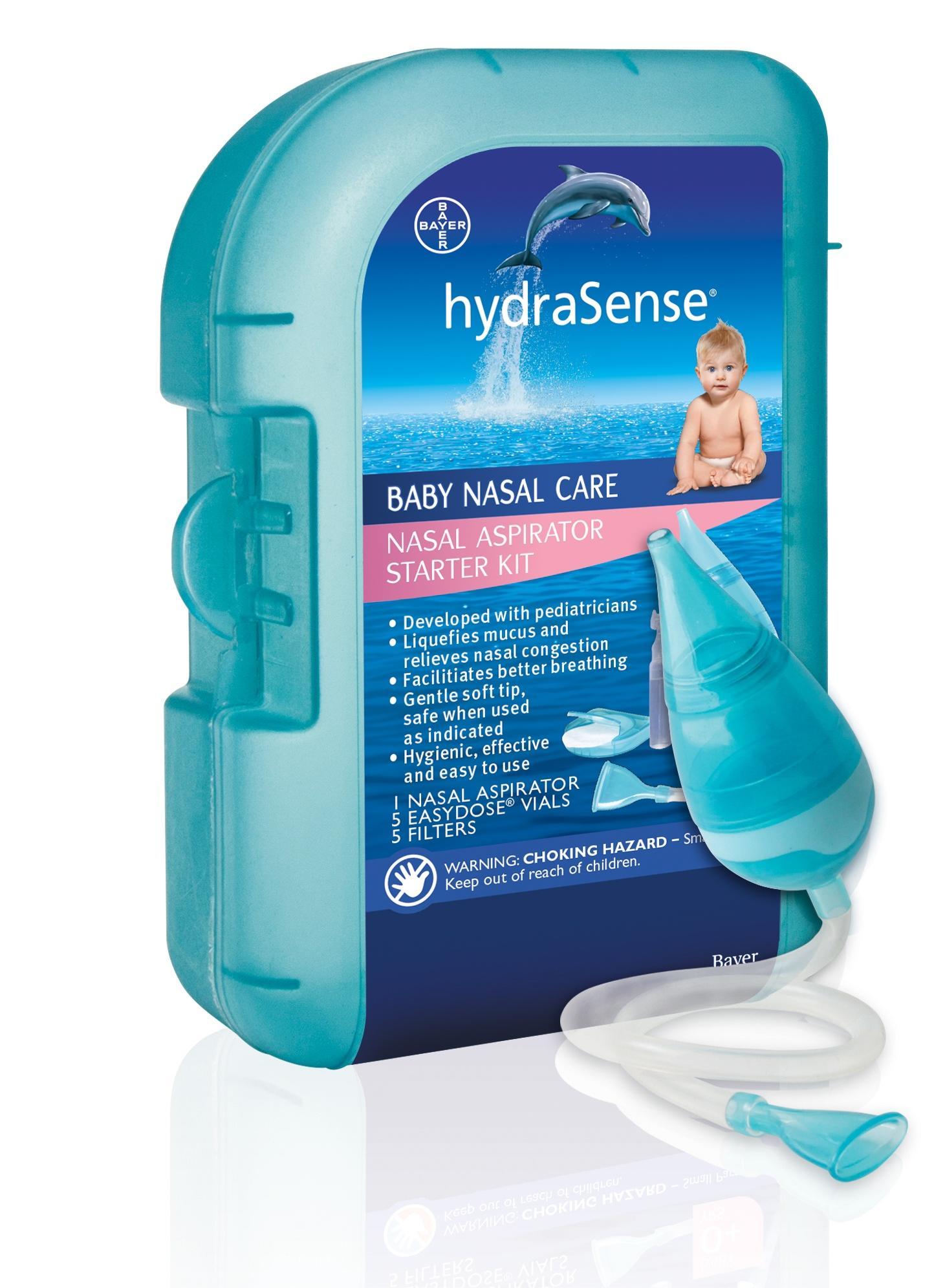 hydraSense Nasal Aspirator Starter Kit: Amazon.ca: Health & Personal ...