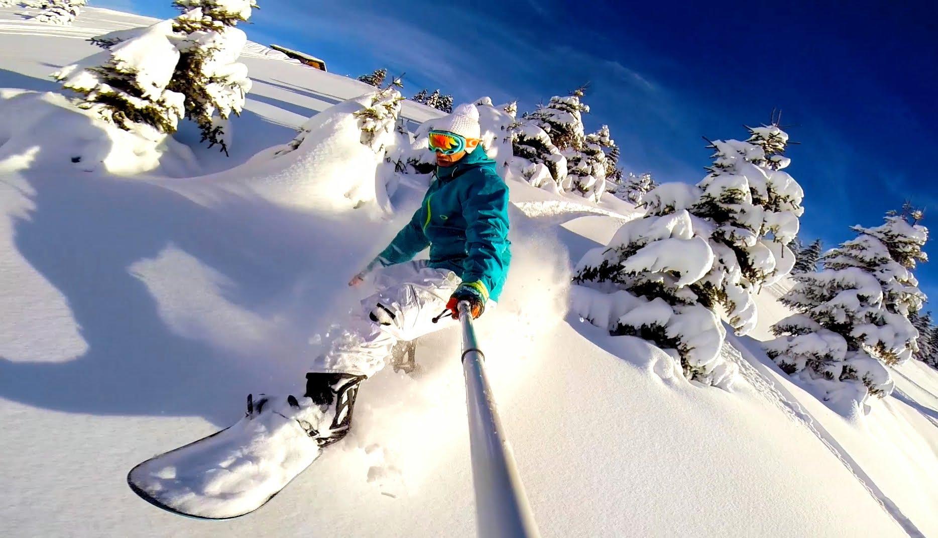 The Art of Ride - Snowboarding Off Piste Backcountry - DJI Phantom 2 ...