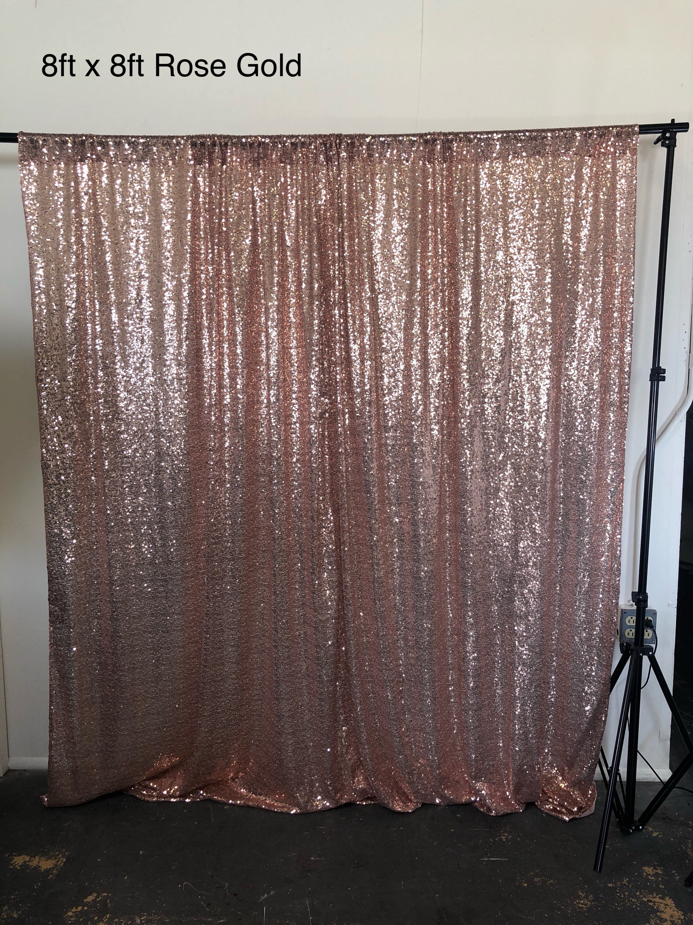 Rose gold Photo backdrop, sequin backdrop, gold sequin backdrop ...