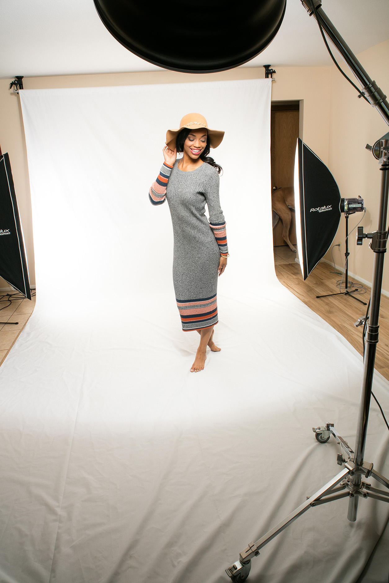 Achieve a Hi-Key Look Easily With a White Canvas Backdrop | Savage ...