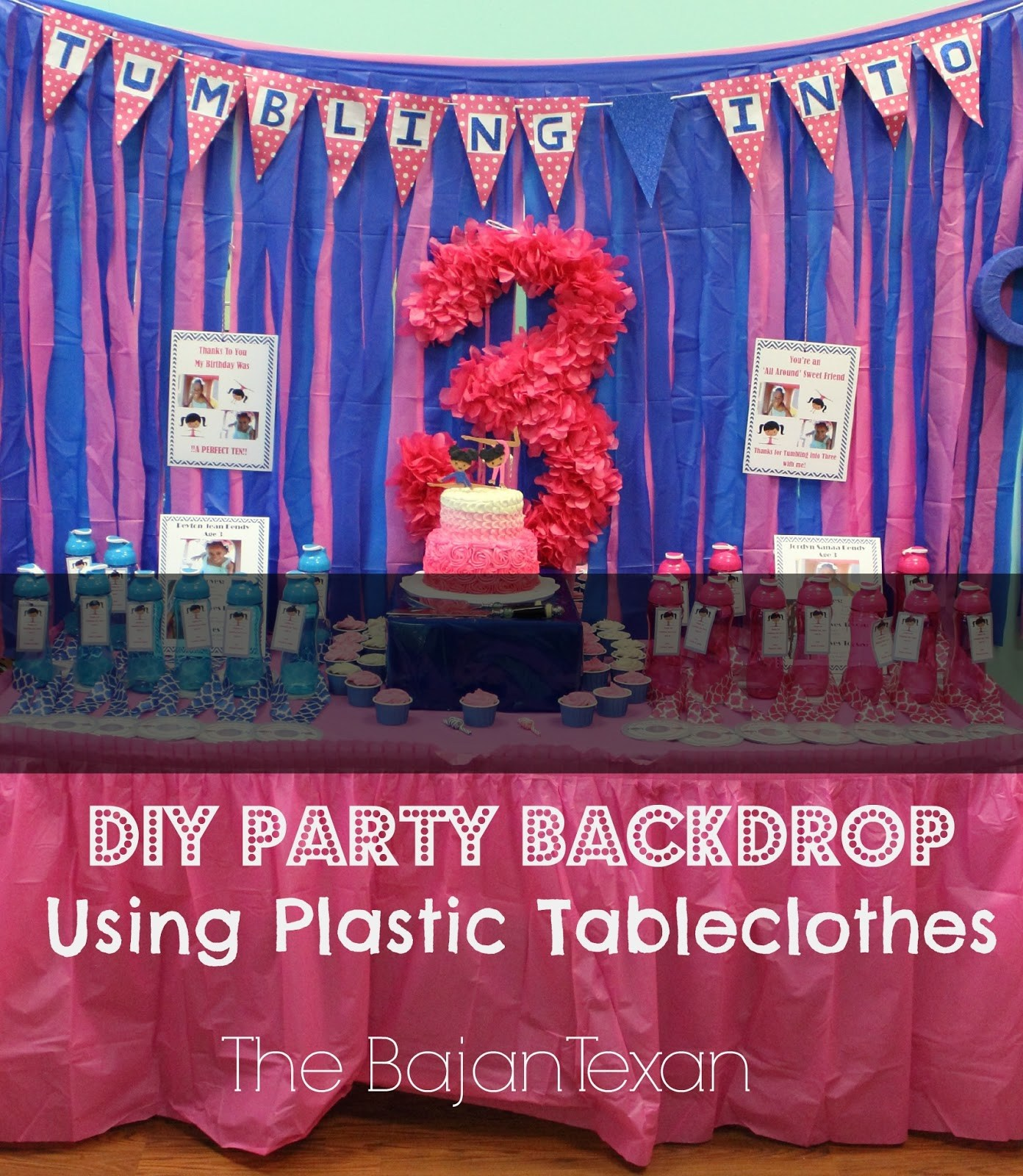 DIY Party Backdrop: Make it in Minutes! – The Bajan Texan