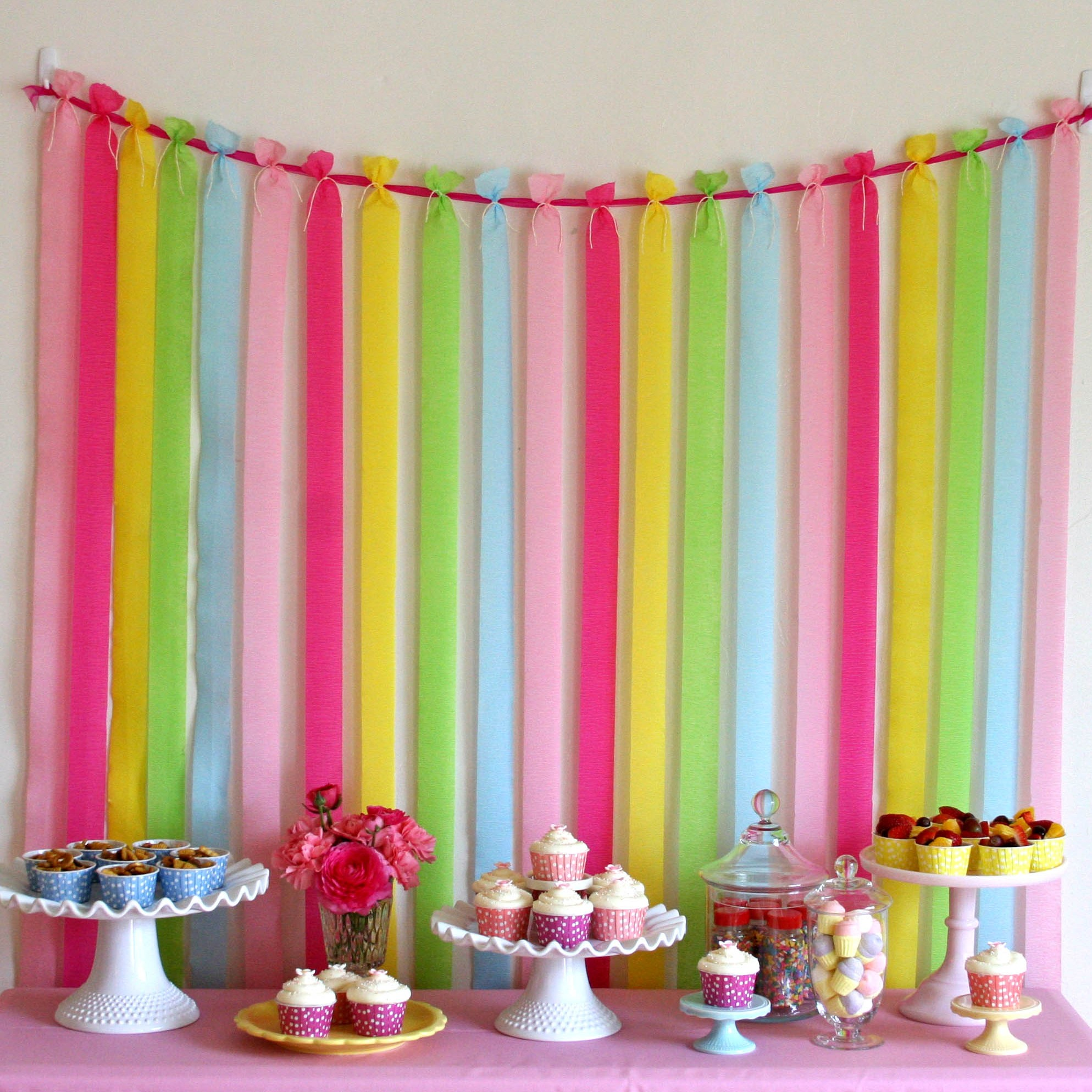 Pretty Party Backdrop – Glorious Treats