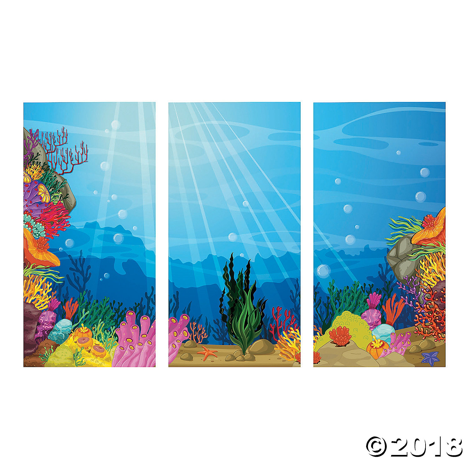 Under the Sea Backdrop Banner