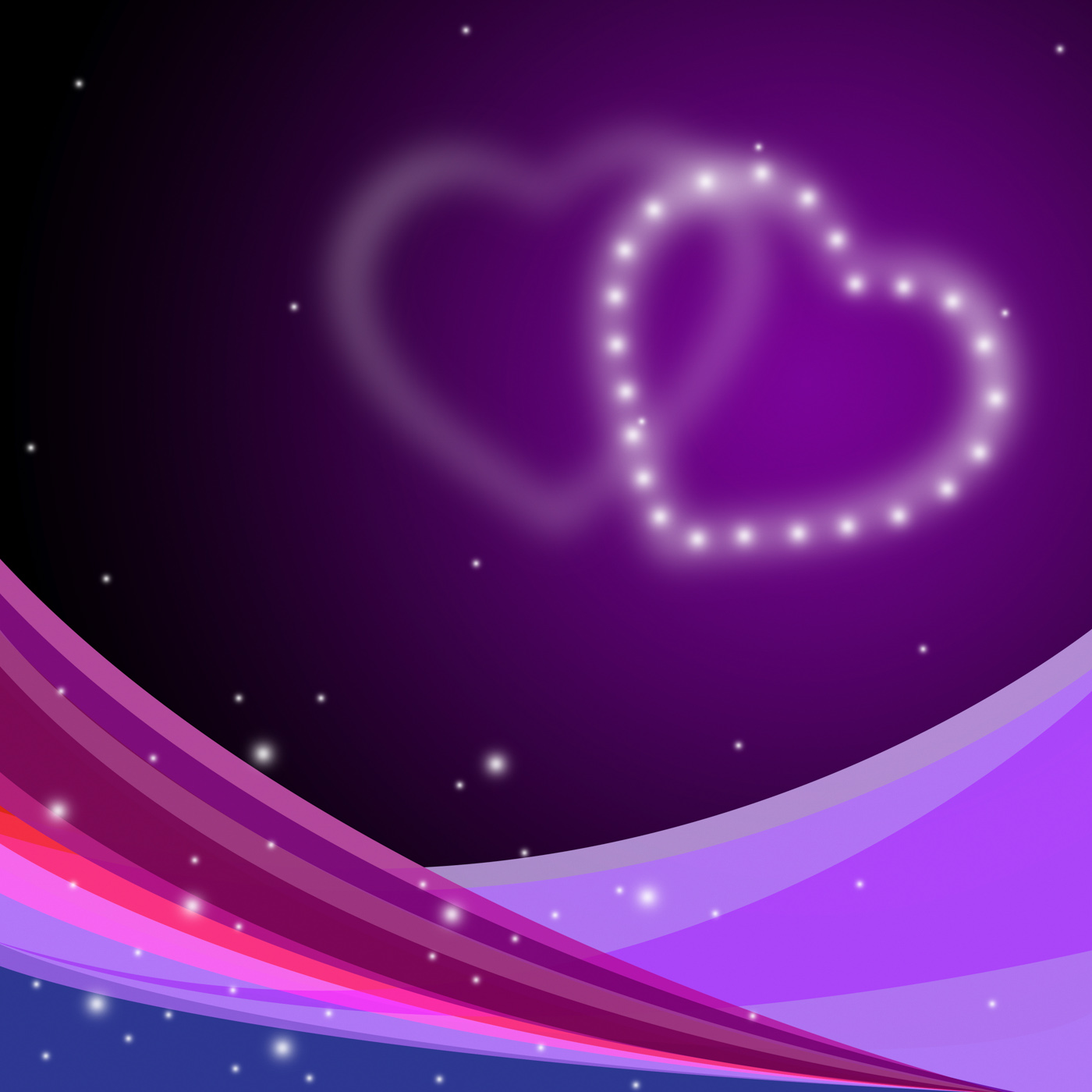 Background heart represents valentines day and affection photo