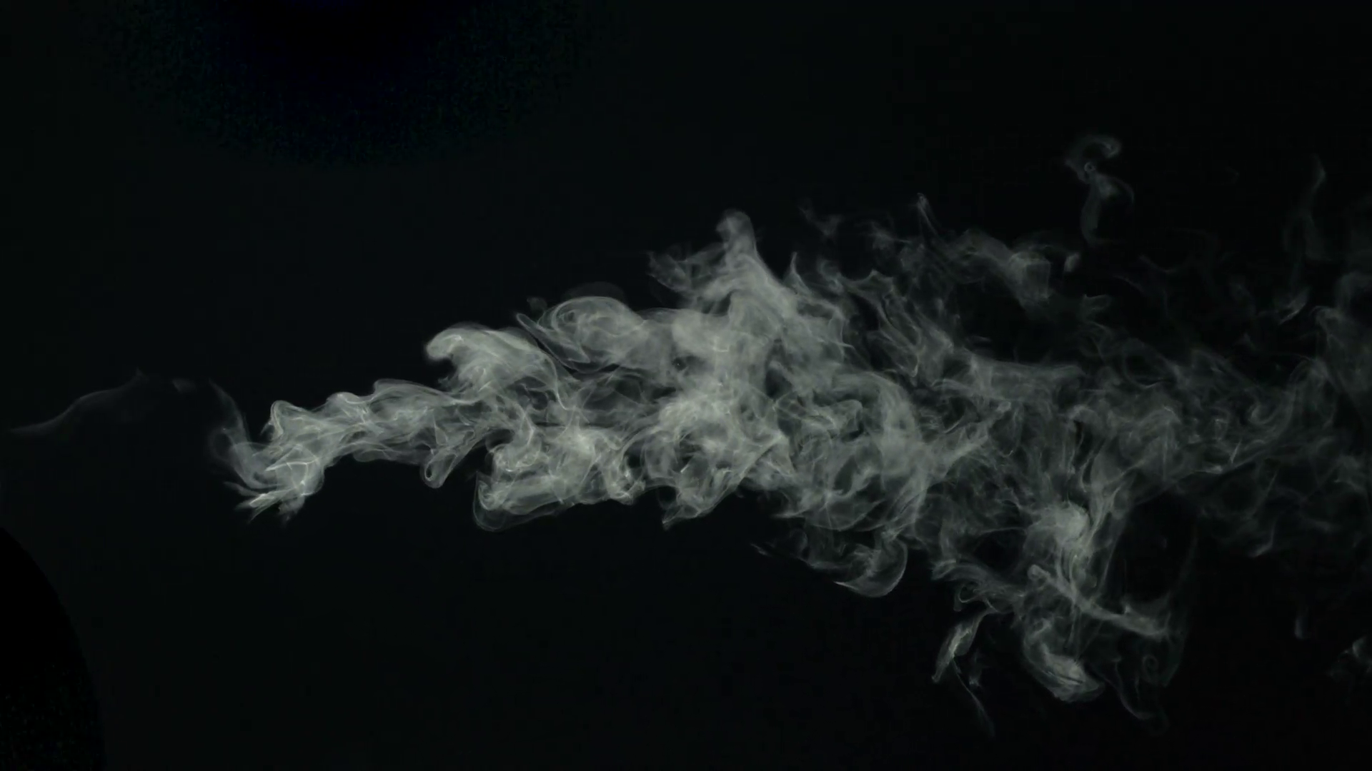 Smoke on black background, Slow Motion Stock Video Footage - Videoblocks