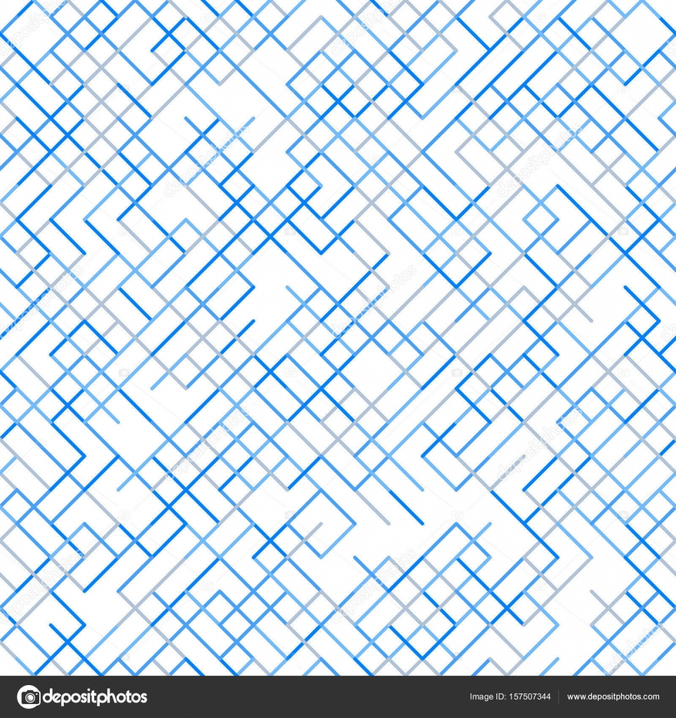 Abstract geometric background random lines pattern — Stock Vector ...