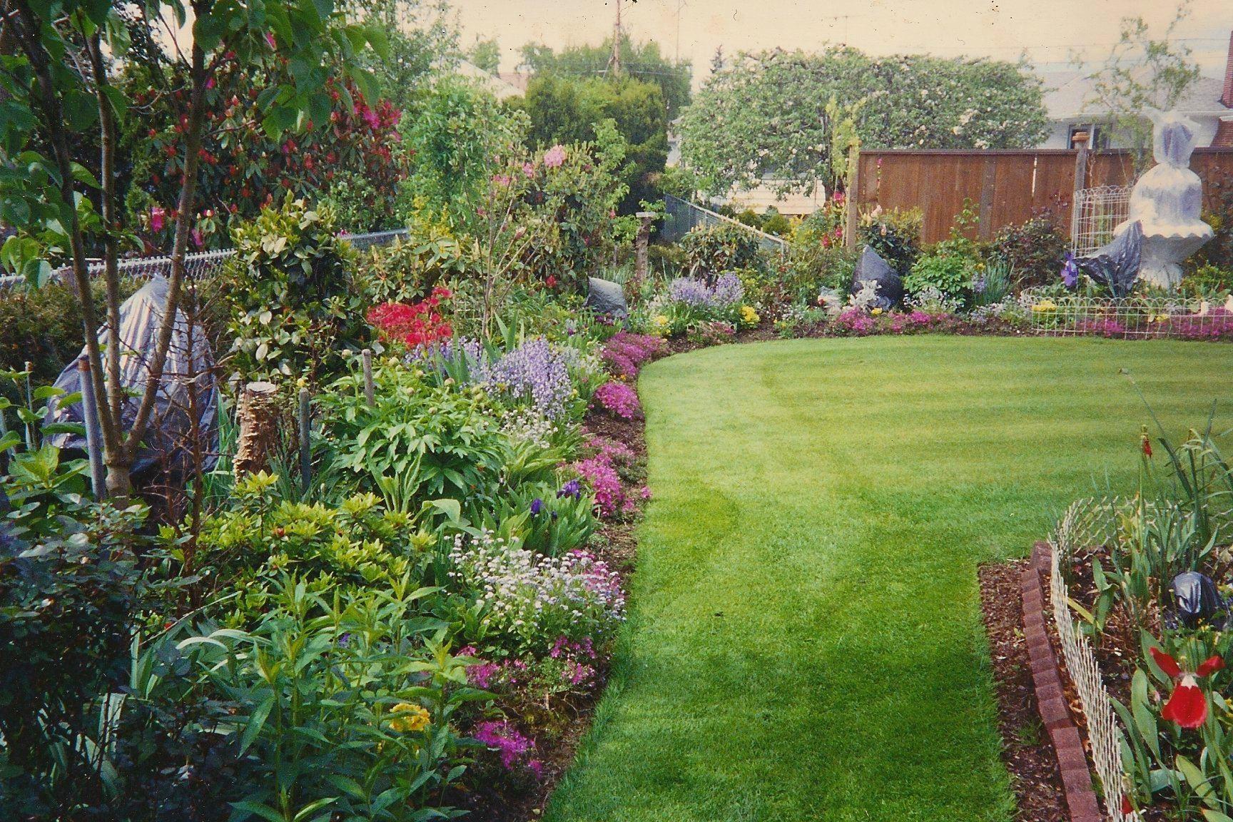 Backyard Flower Garden Designs - Beautiful Swish Flowers Fresh Green ...