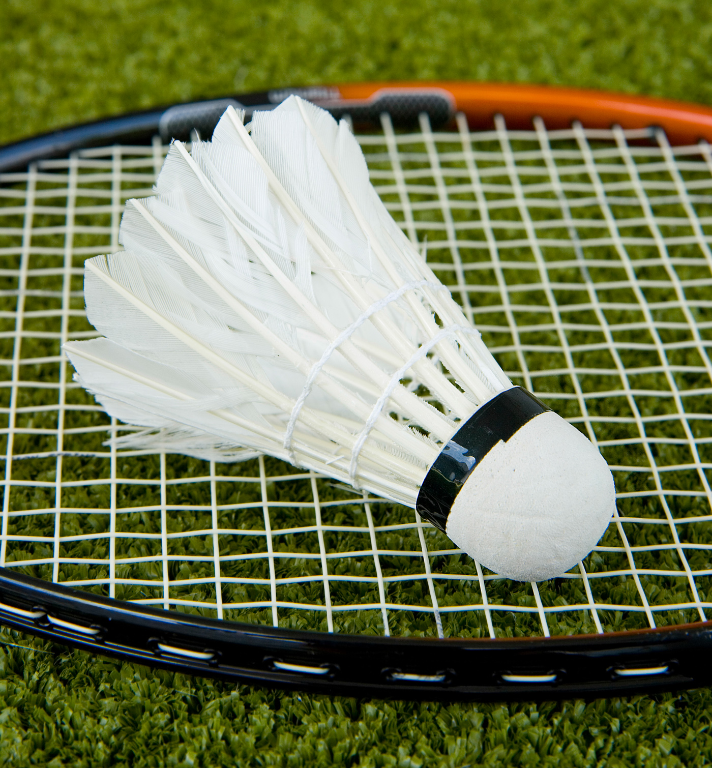 Badminton Racket And Shuttlecock, Active, Match, Tournament, Strings, HQ Photo