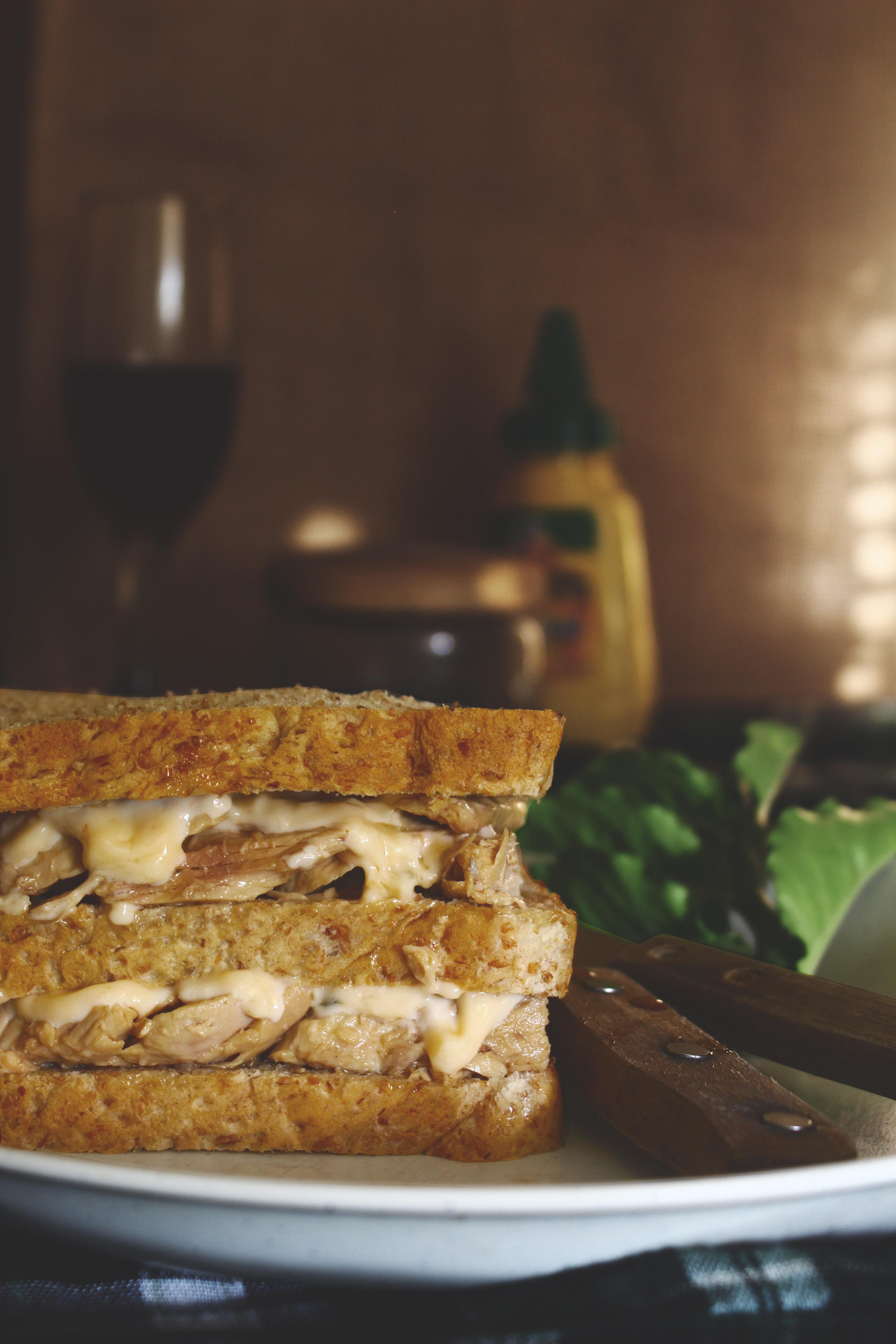 Baked sandwich photo