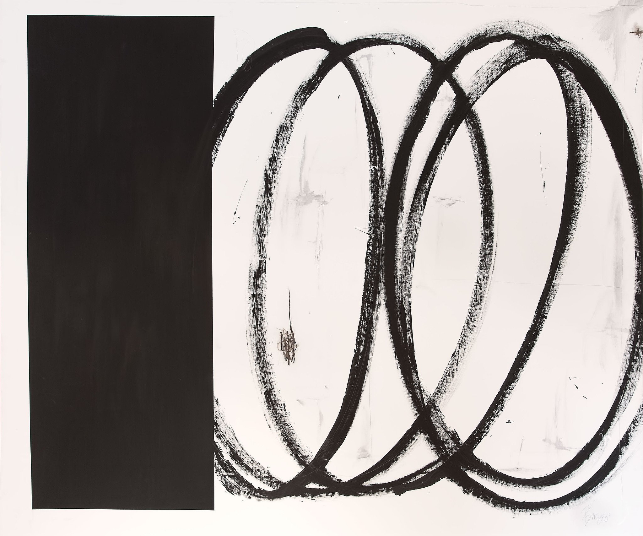 Briggs Solomon Black Square With Swirls – ArtStar