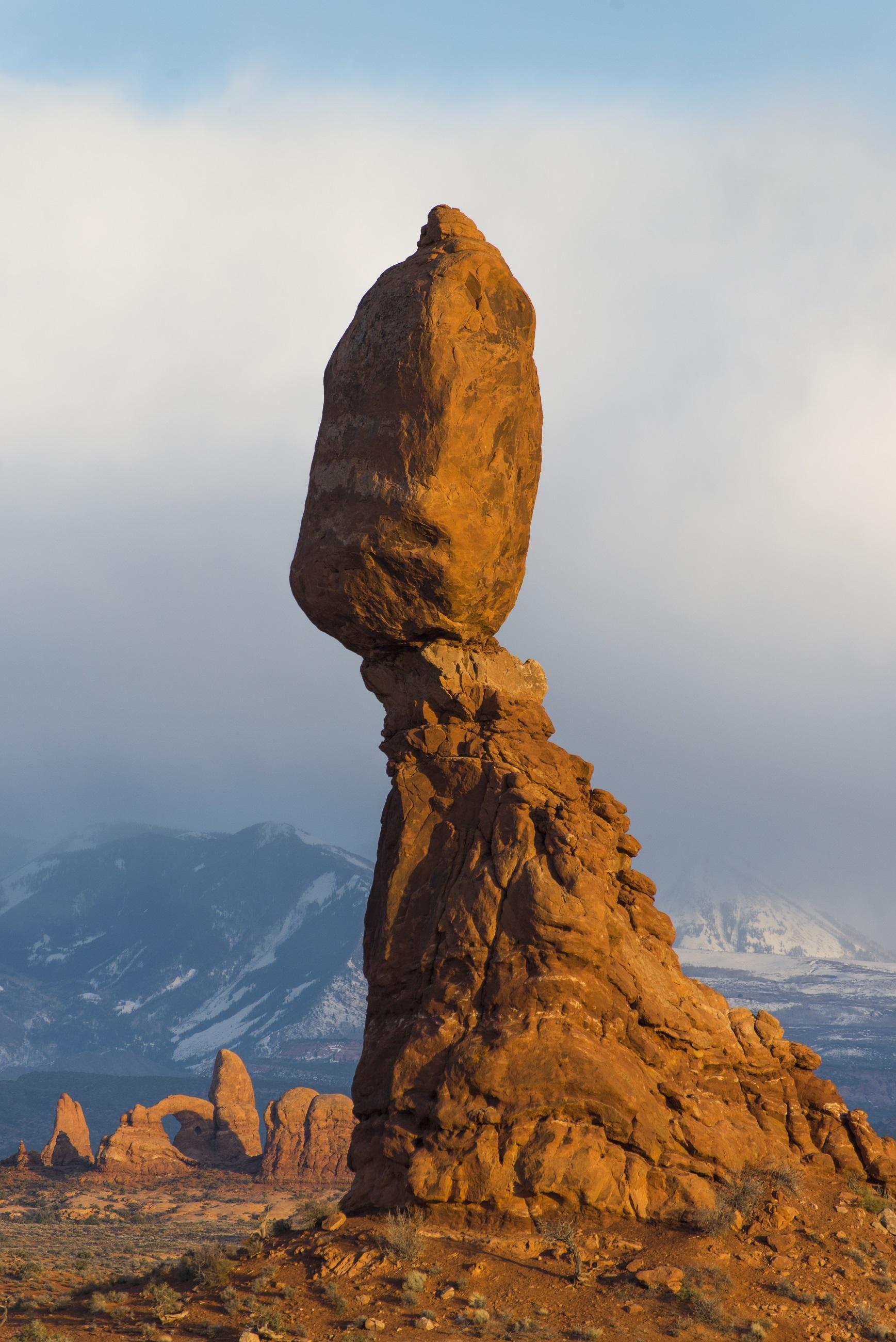 Balanced rock photo