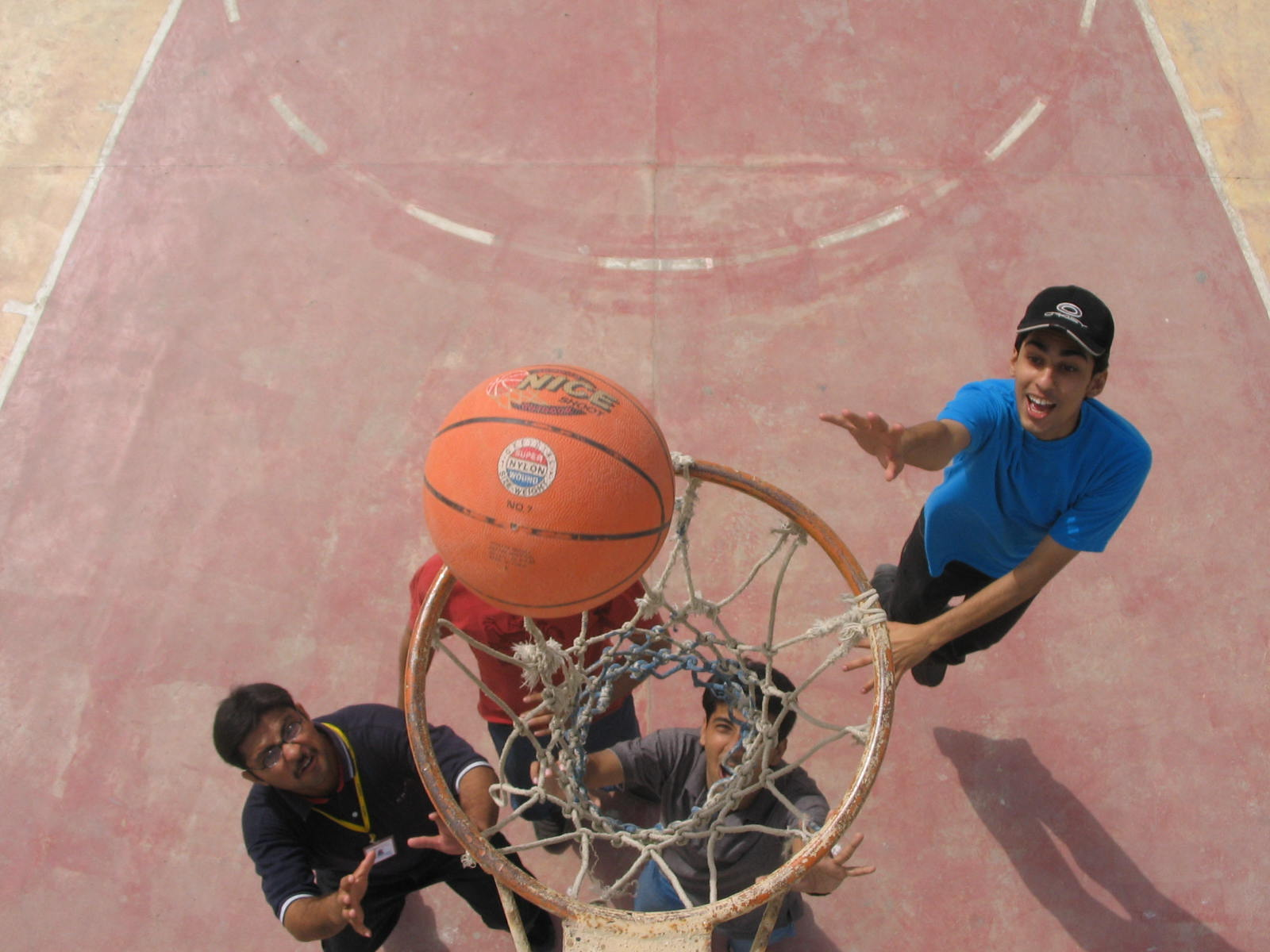 Ball in a basket, Activity, Basketball, Bspo06, Game, HQ Photo