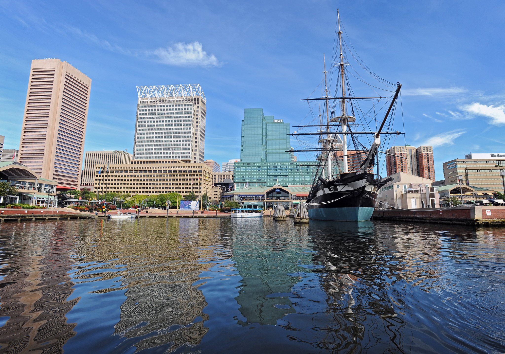 Video shows people swimming in Baltimore Inner Harbor waters ...