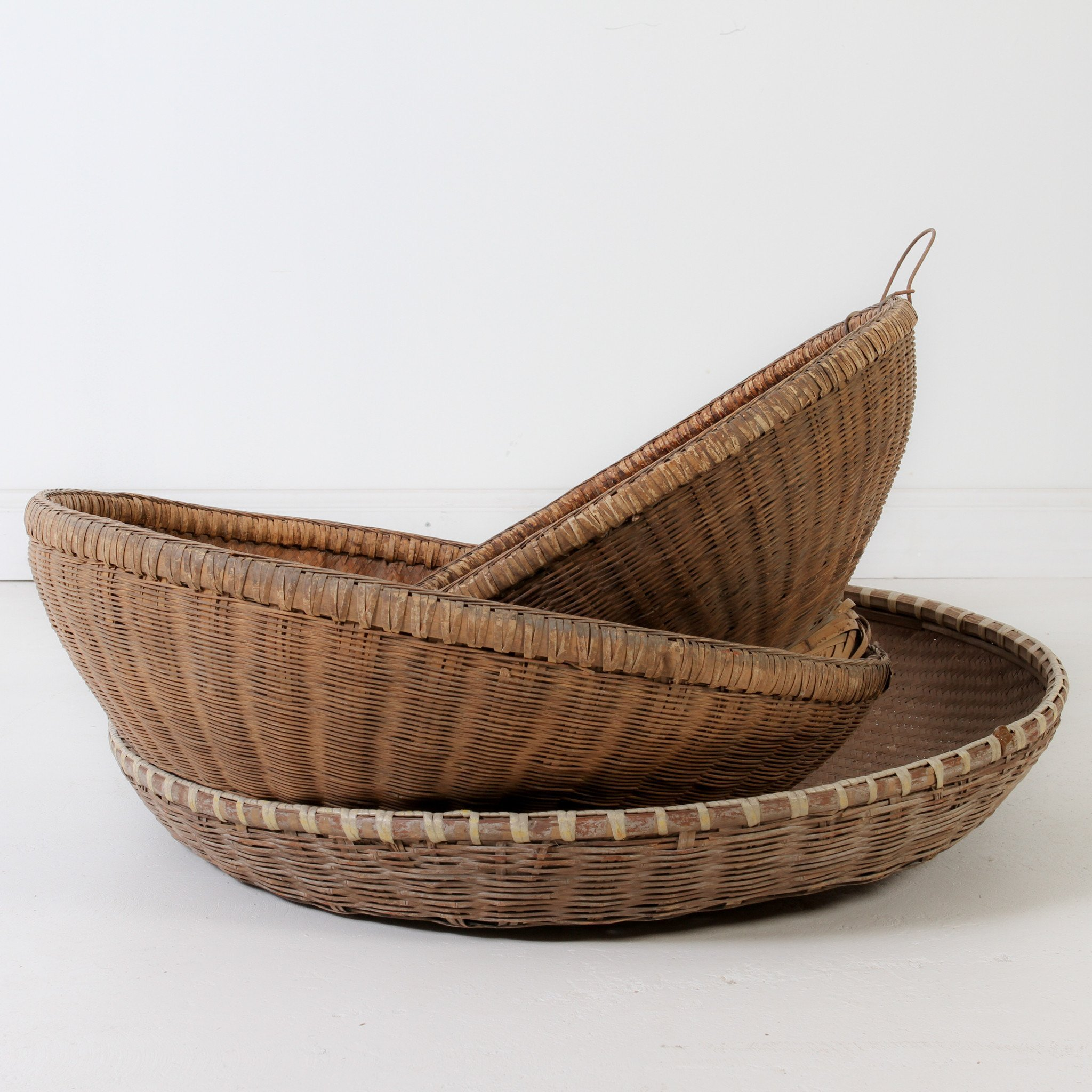 Chinese Bamboo Basket – Indigo Love Collectors