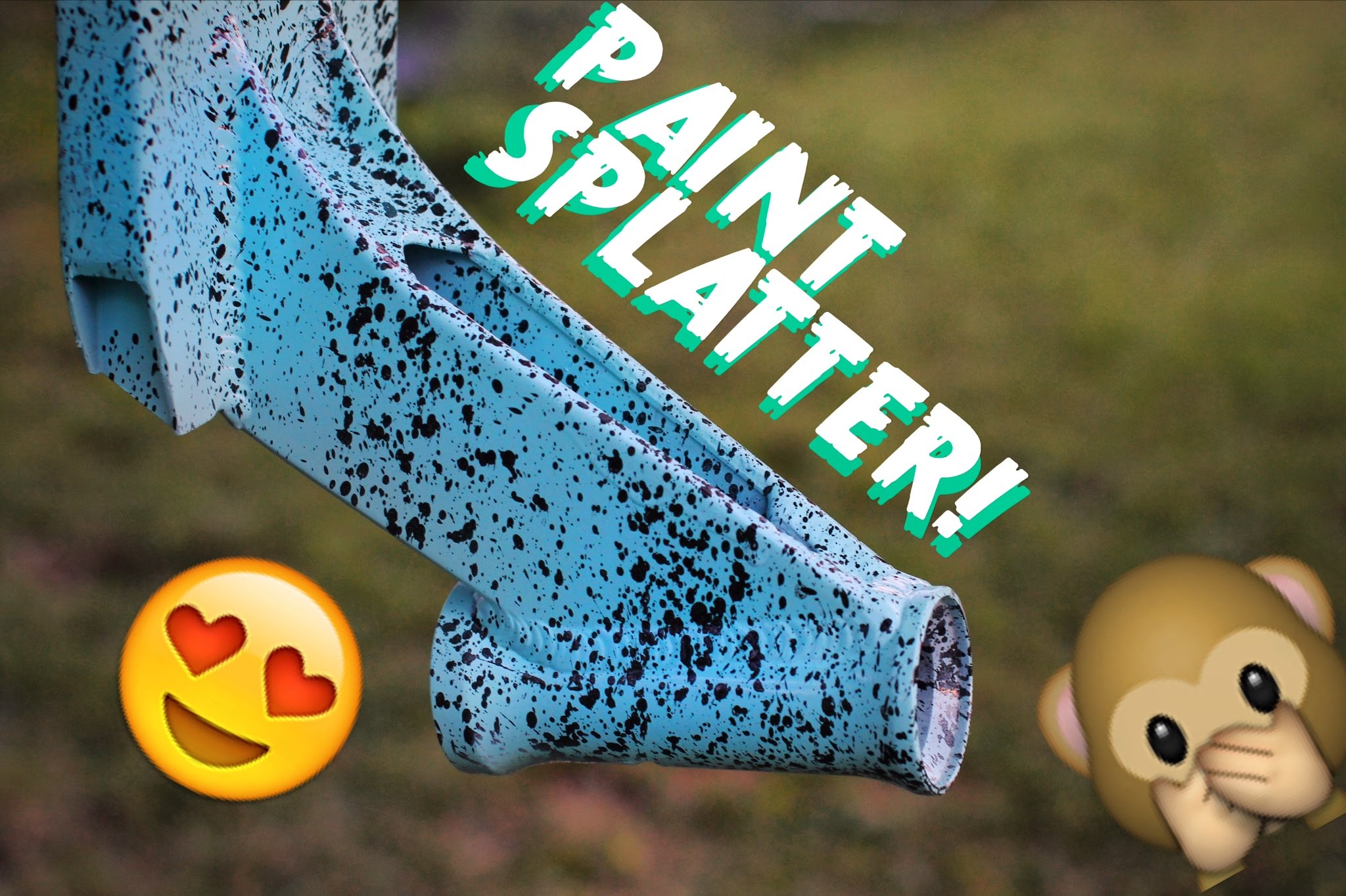 PAINT SPLATTER! | How To - YouTube