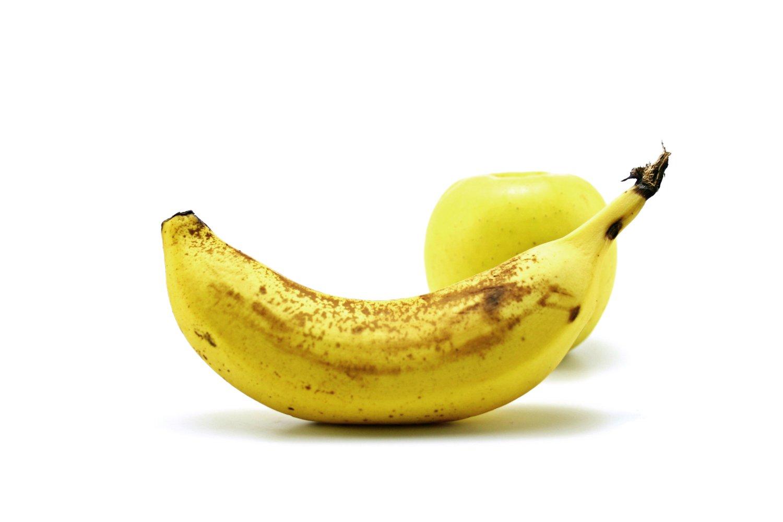 banana and apple, Abstract, Peel, Lifestyle, Macro, HQ Photo