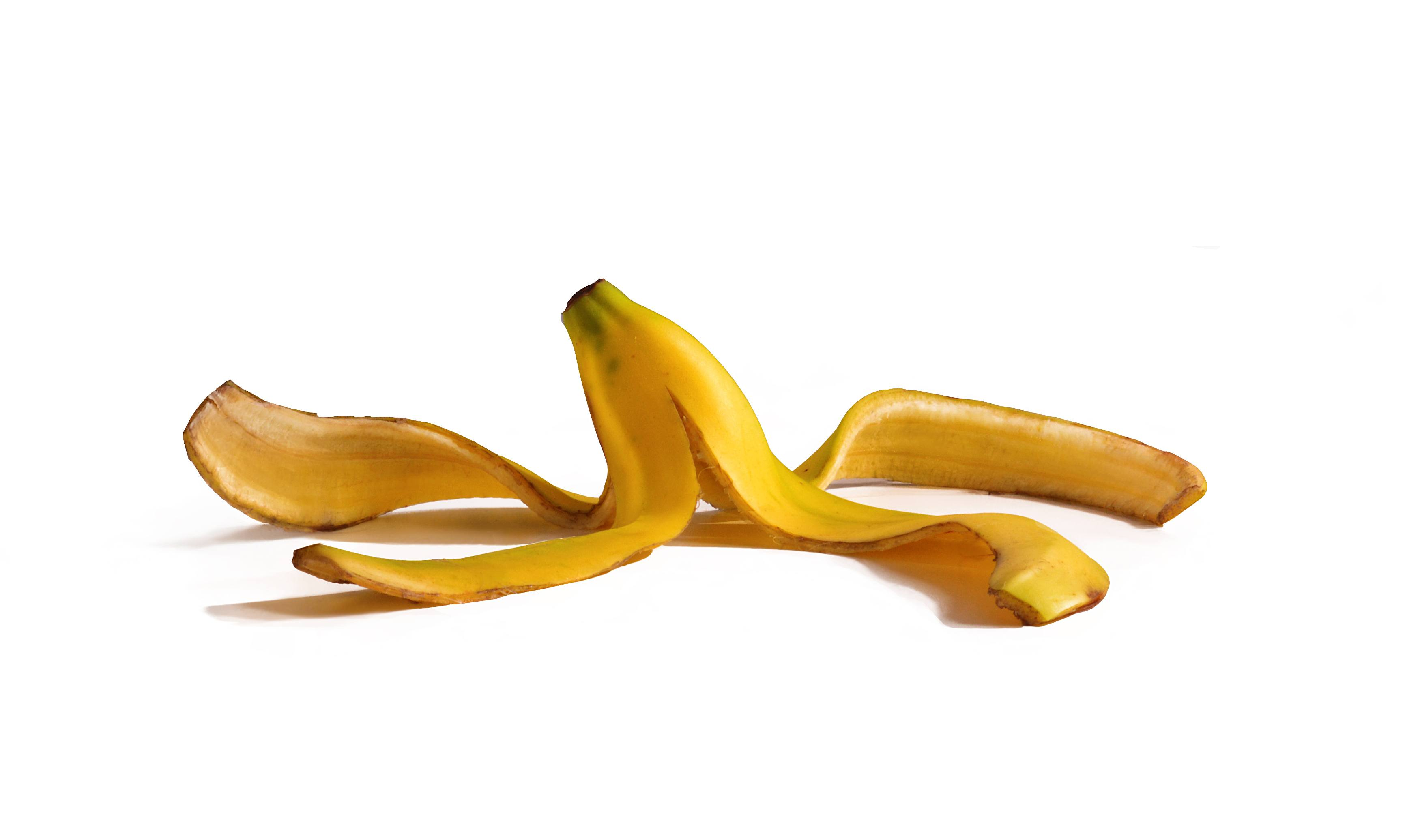 Banana peel photo