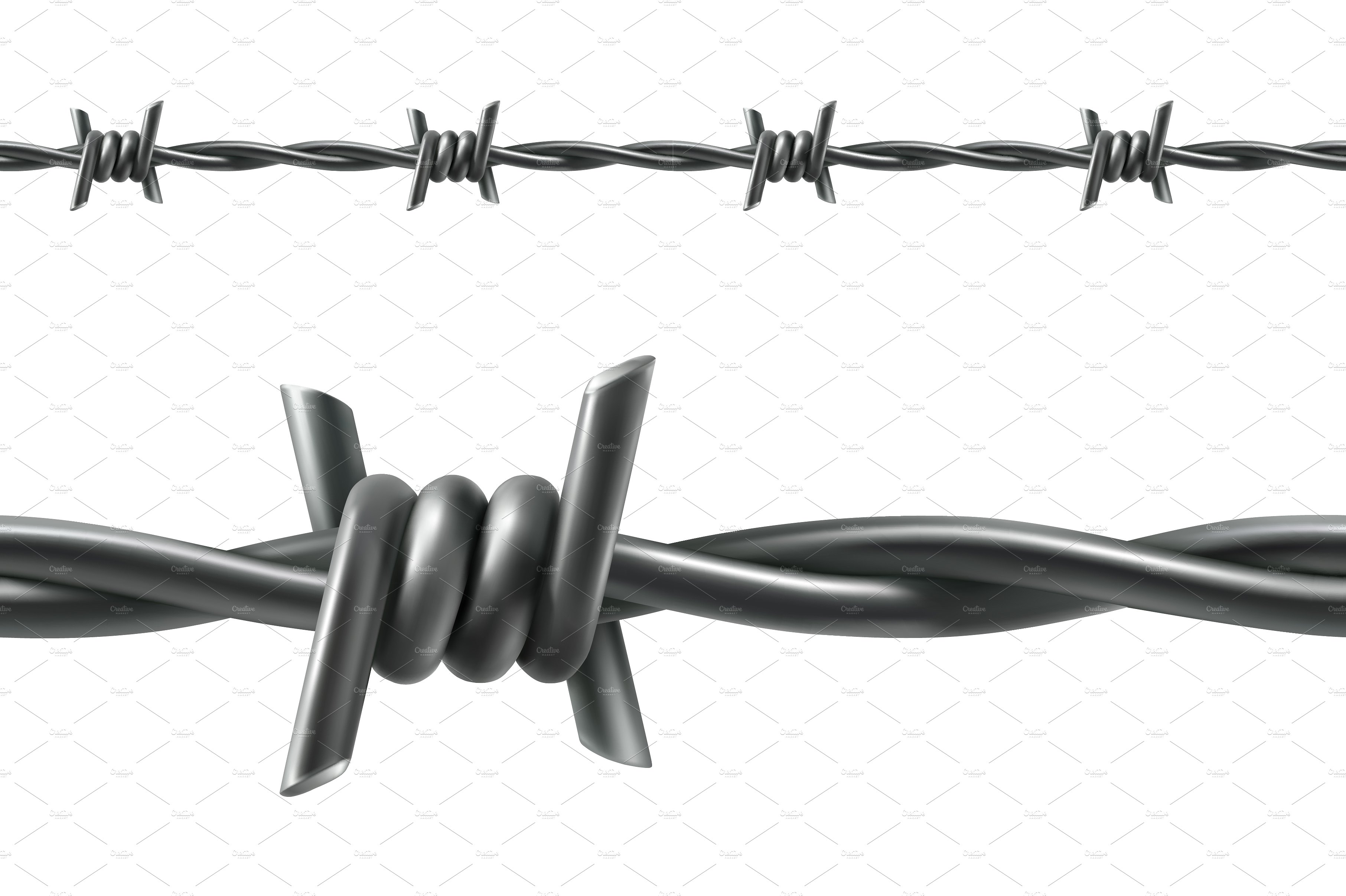 Barbed wire ~ Icons ~ Creative Market