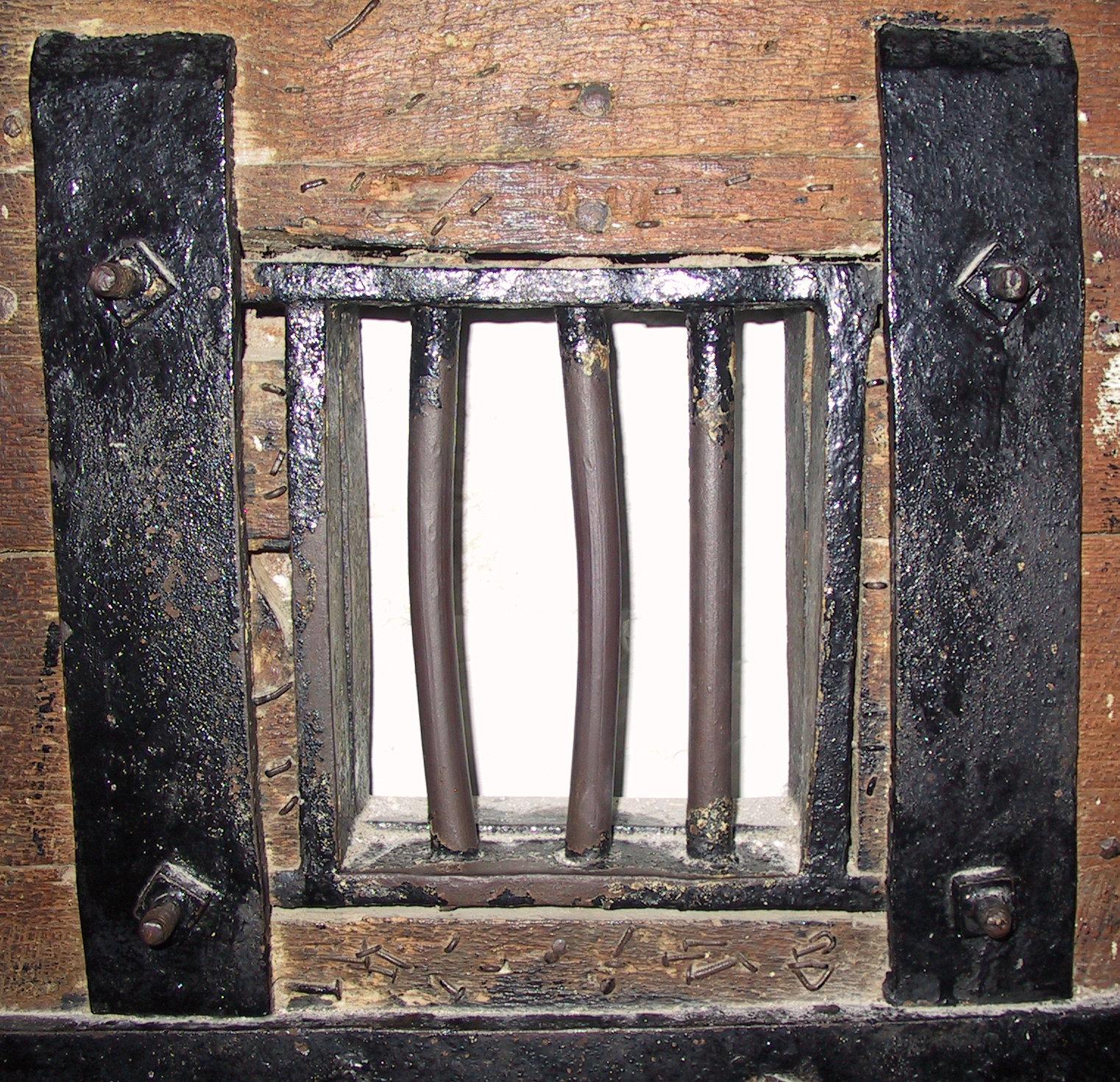 Oklahoma Barred Window by Falln-Stock on DeviantArt