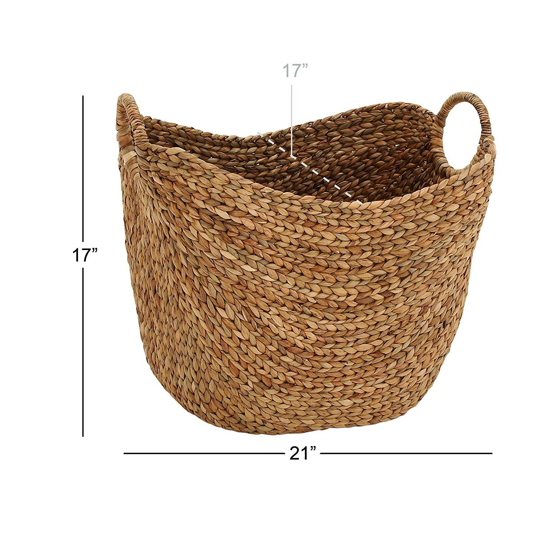 Amazon.com: Deco 79 Large Seagrass Basket: Home & Kitchen