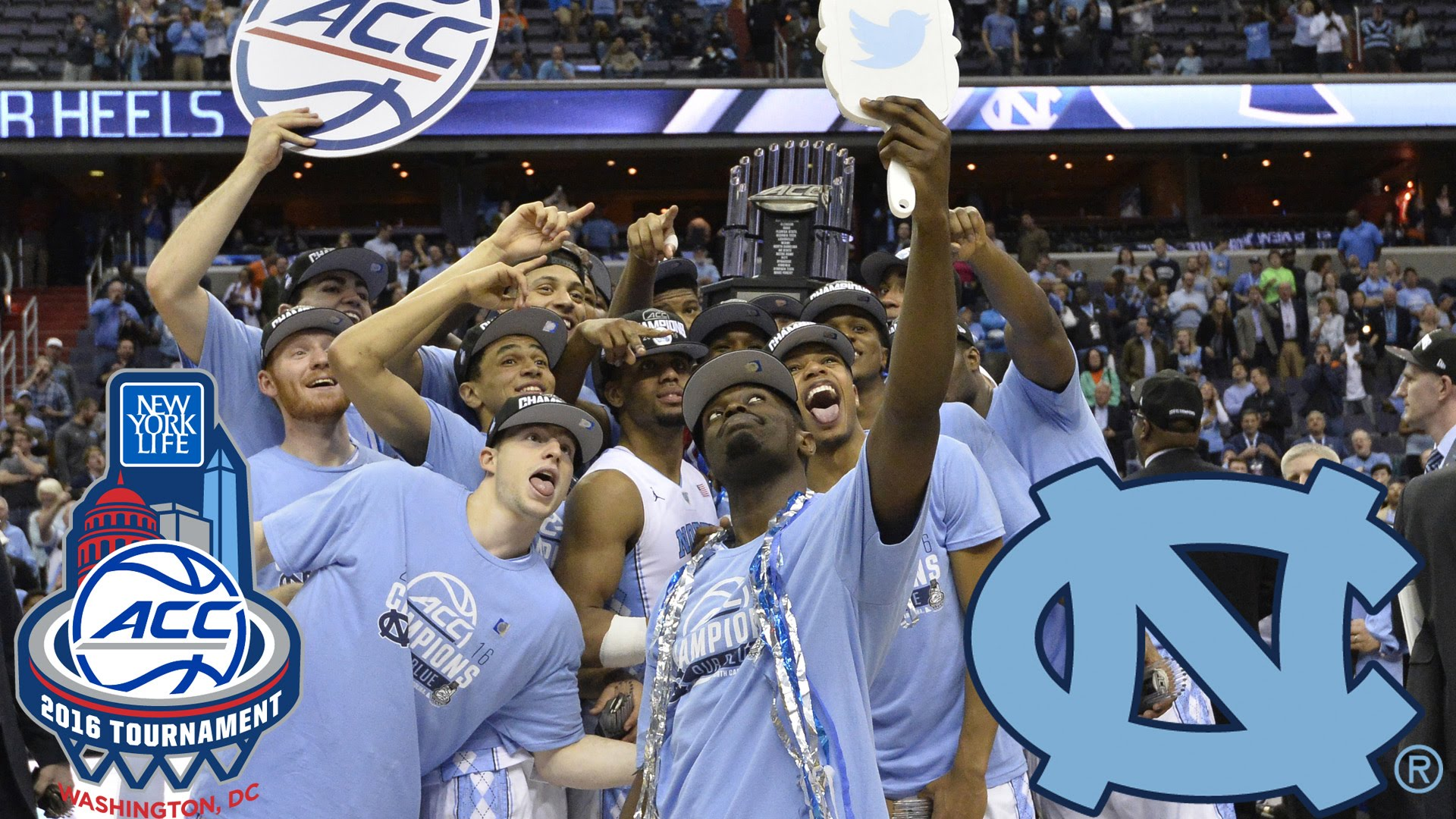 North Carolina Claims 2016 ACC Men's Basketball Tournament ...