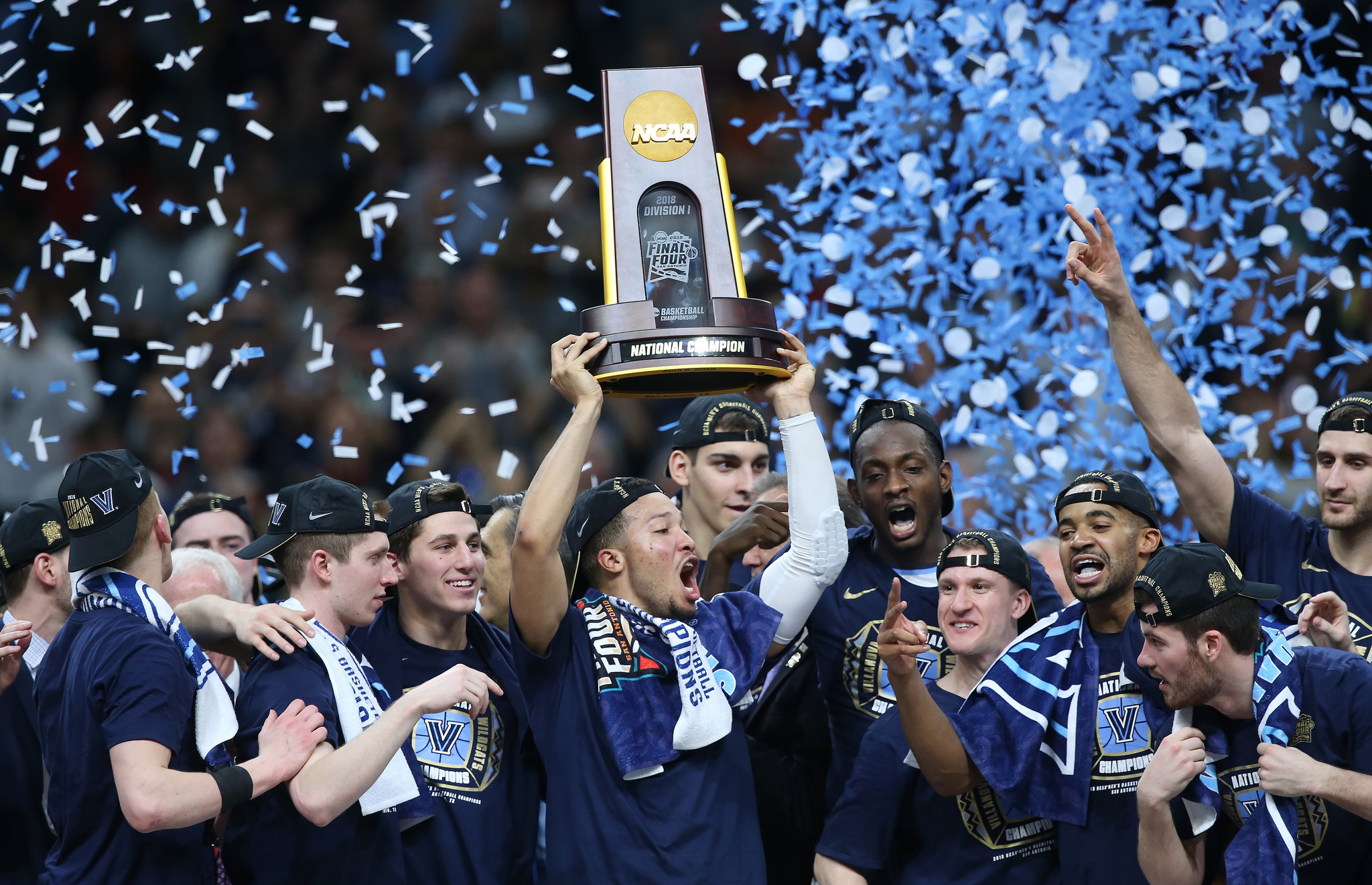 NCAA men's basketball championship: Villanova 79, Michigan 62 ...