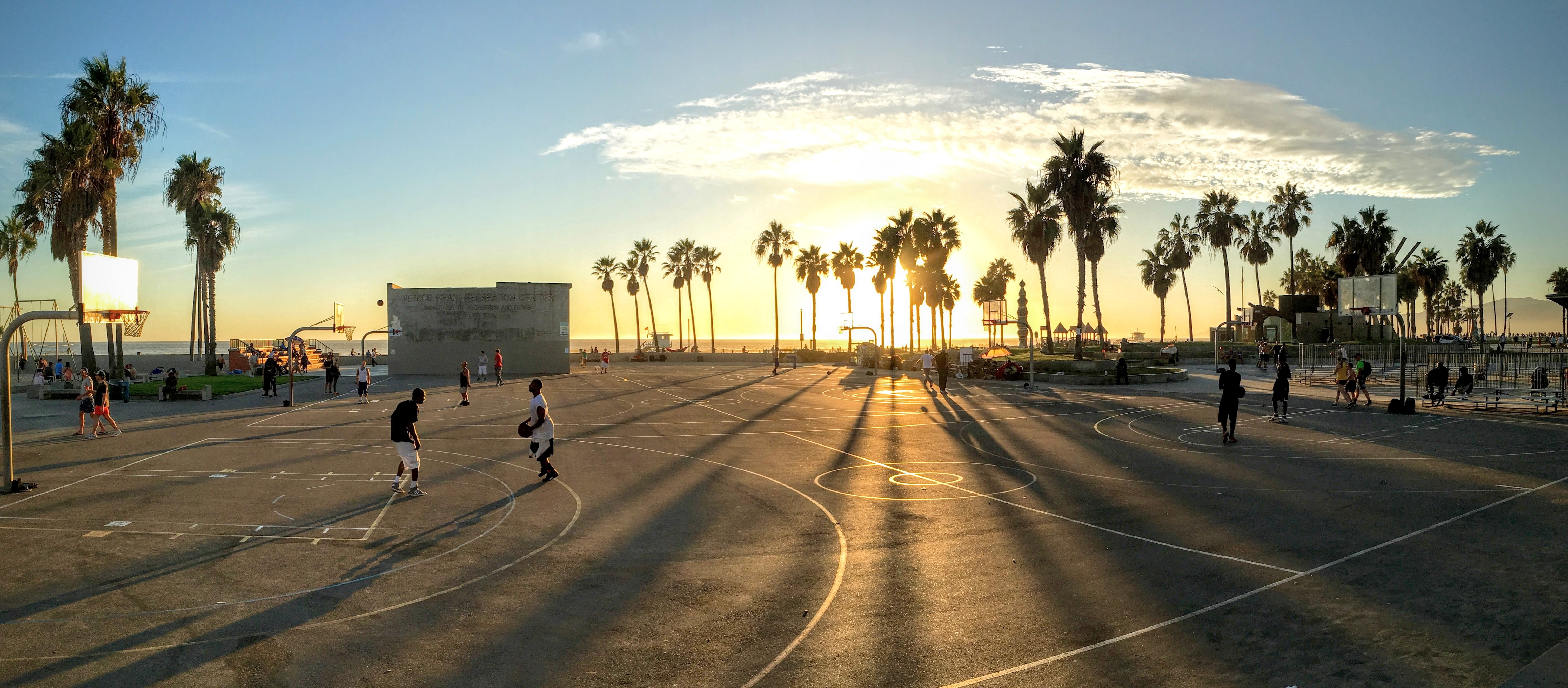 Basketball court, Activity, Basketball, Court, Healthy, HQ Photo