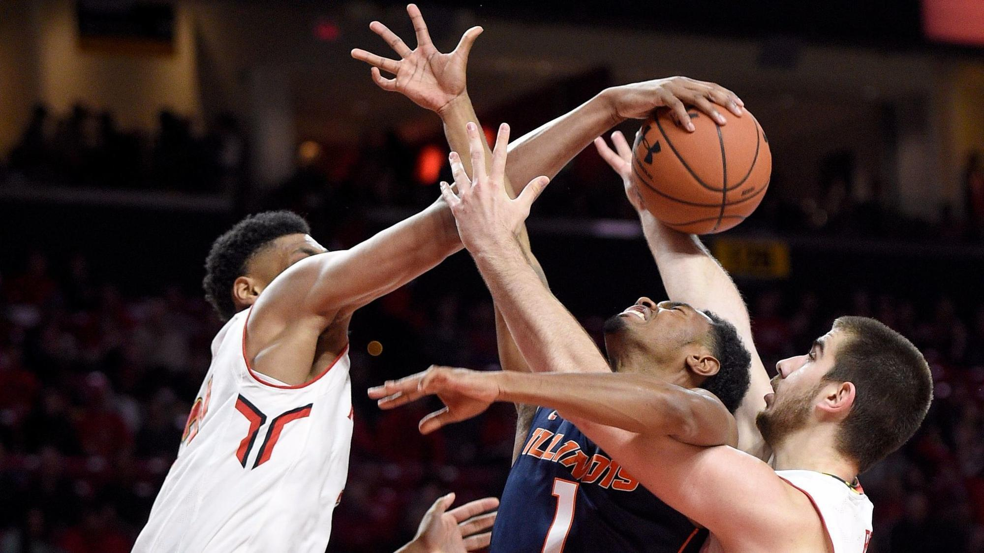 Previewing Maryland men's basketball vs. Illinois: game time, odds ...