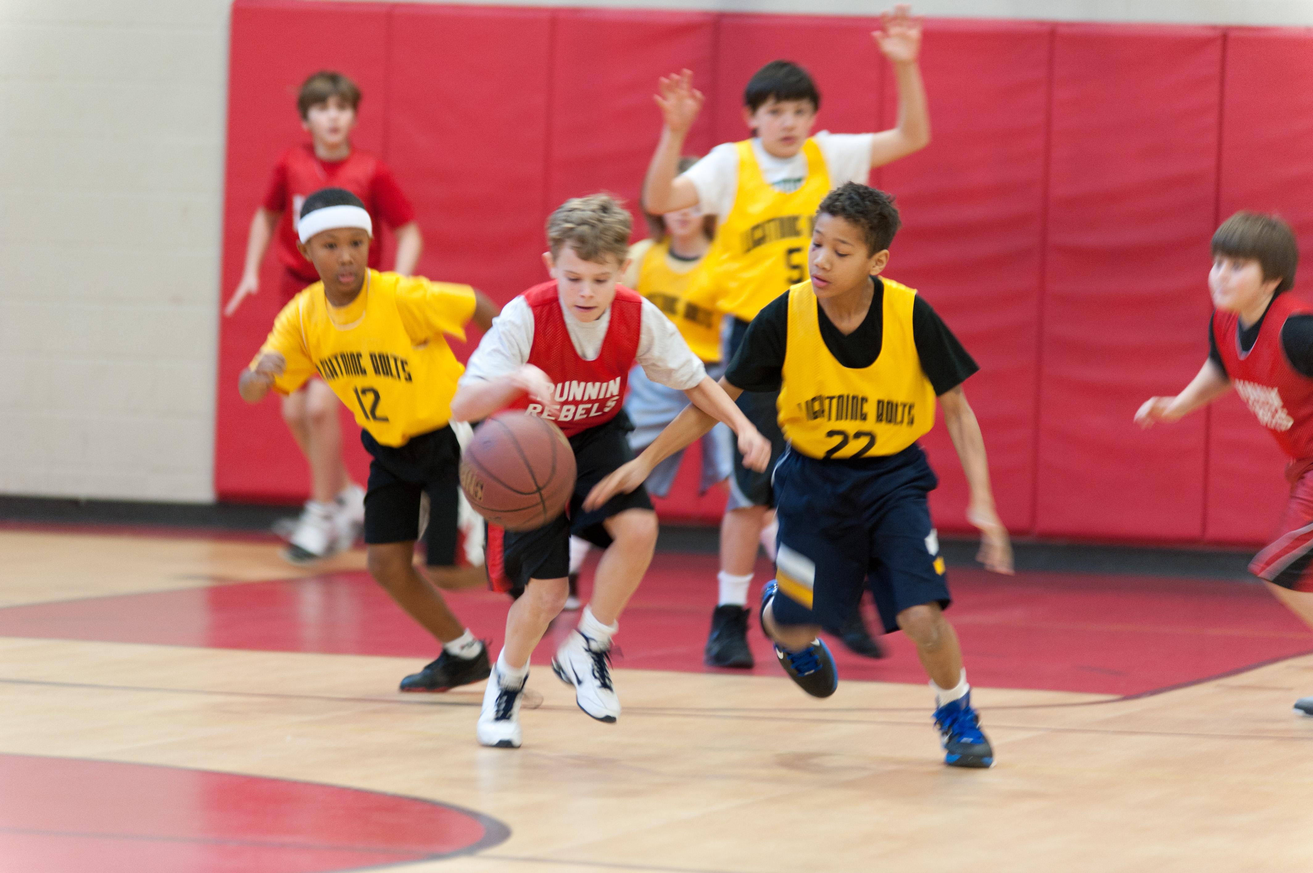 Basketball league photo