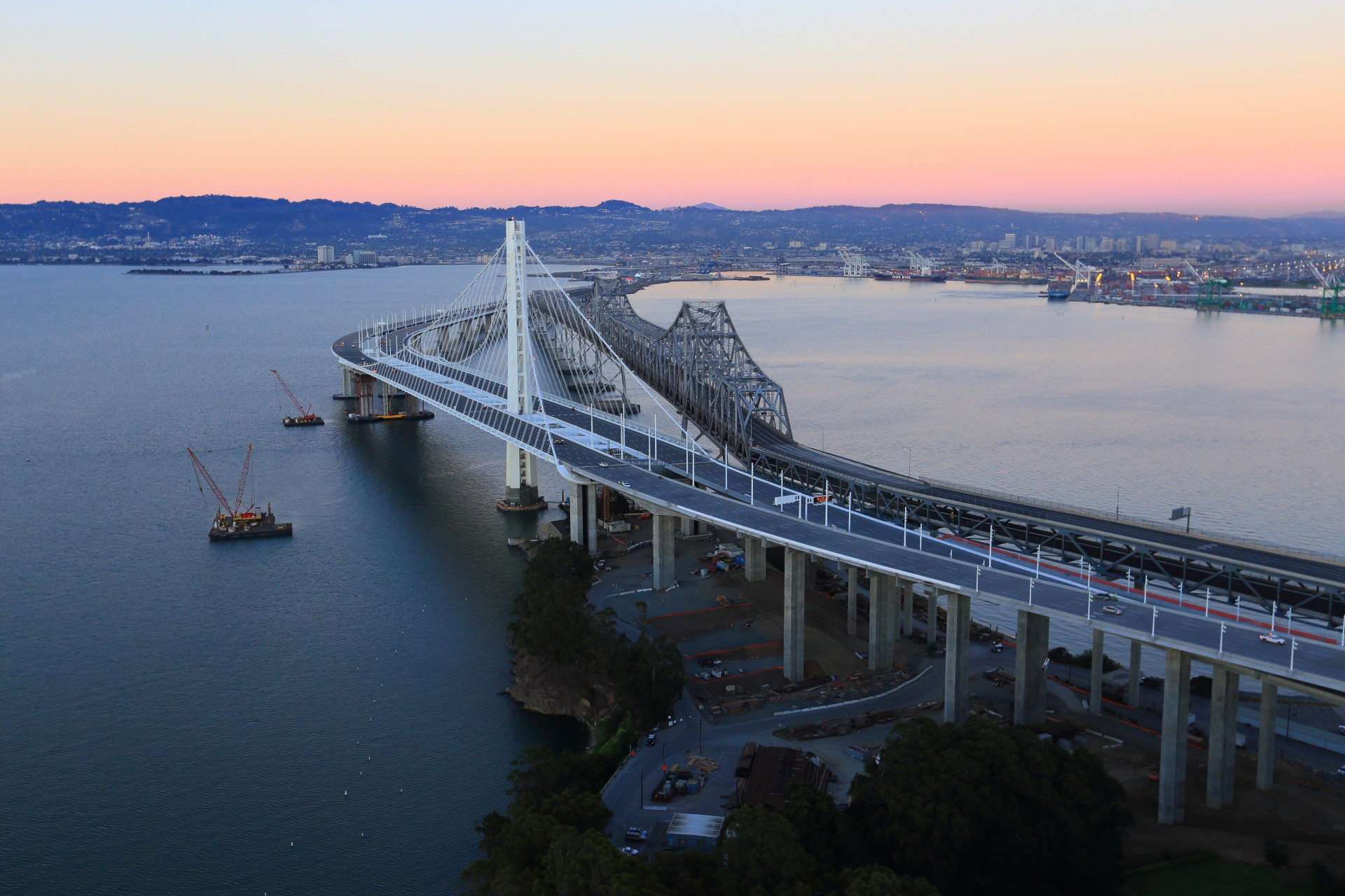 Bay bridge oakland photo