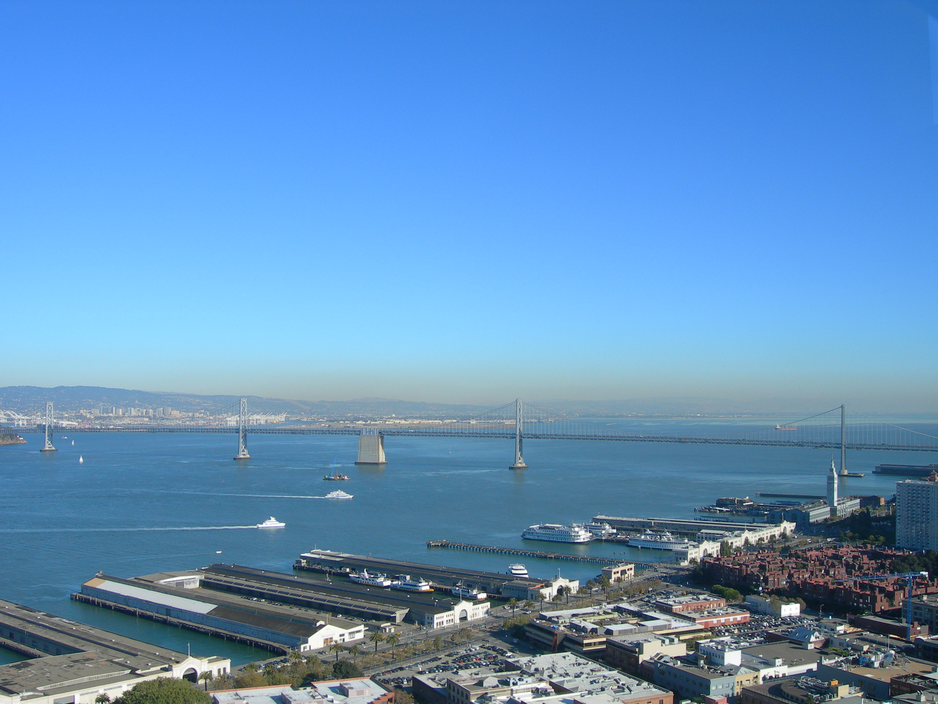 Bay bridge view photo