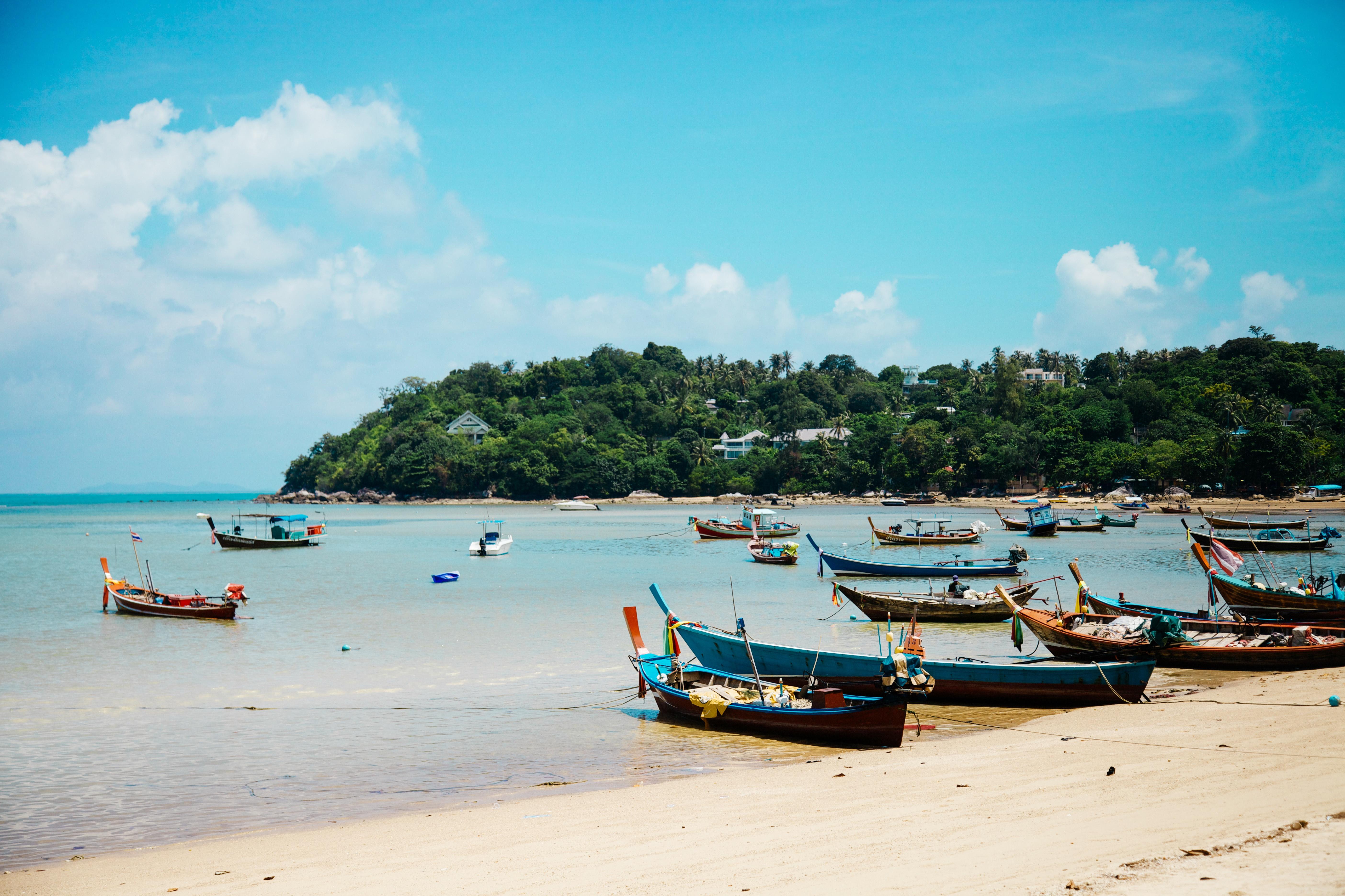 Beach, Boats, Ocean, River, Sea, HQ Photo