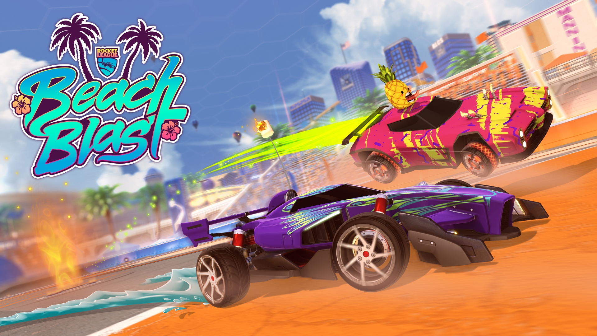 Beach Blast Event Starts June 11 | Rocket League® - Official Site