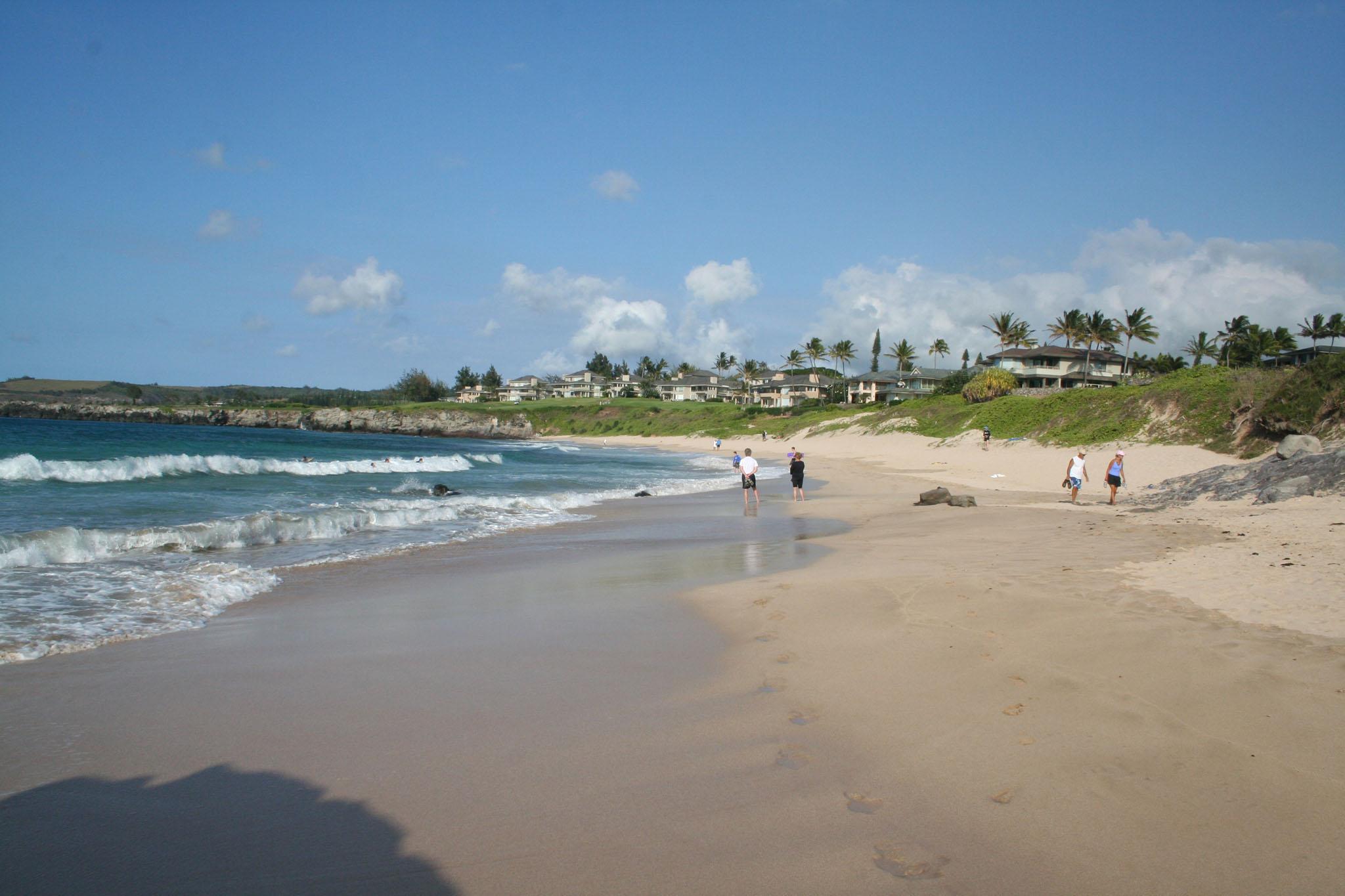 Oneloa Beach   Maui Guidebook