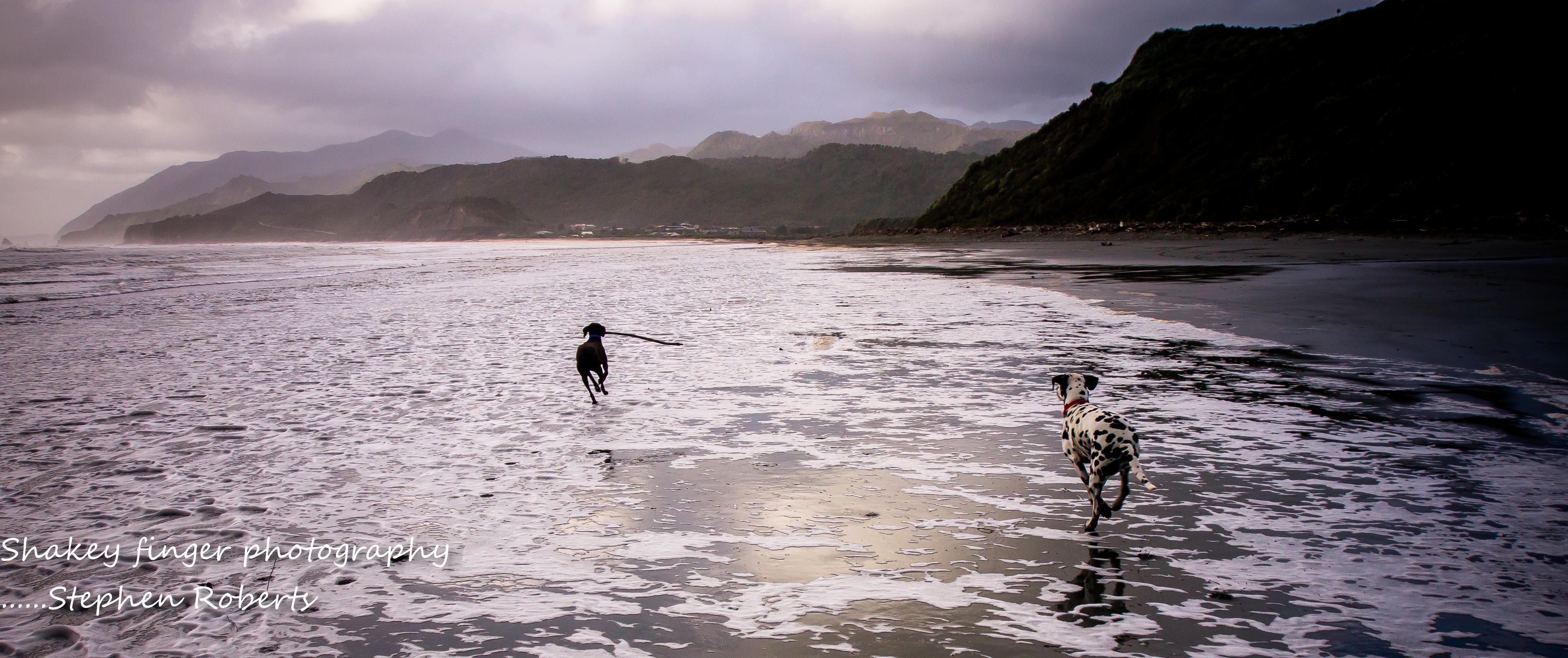 Rapahoe Beach – after the storm | coastingnz