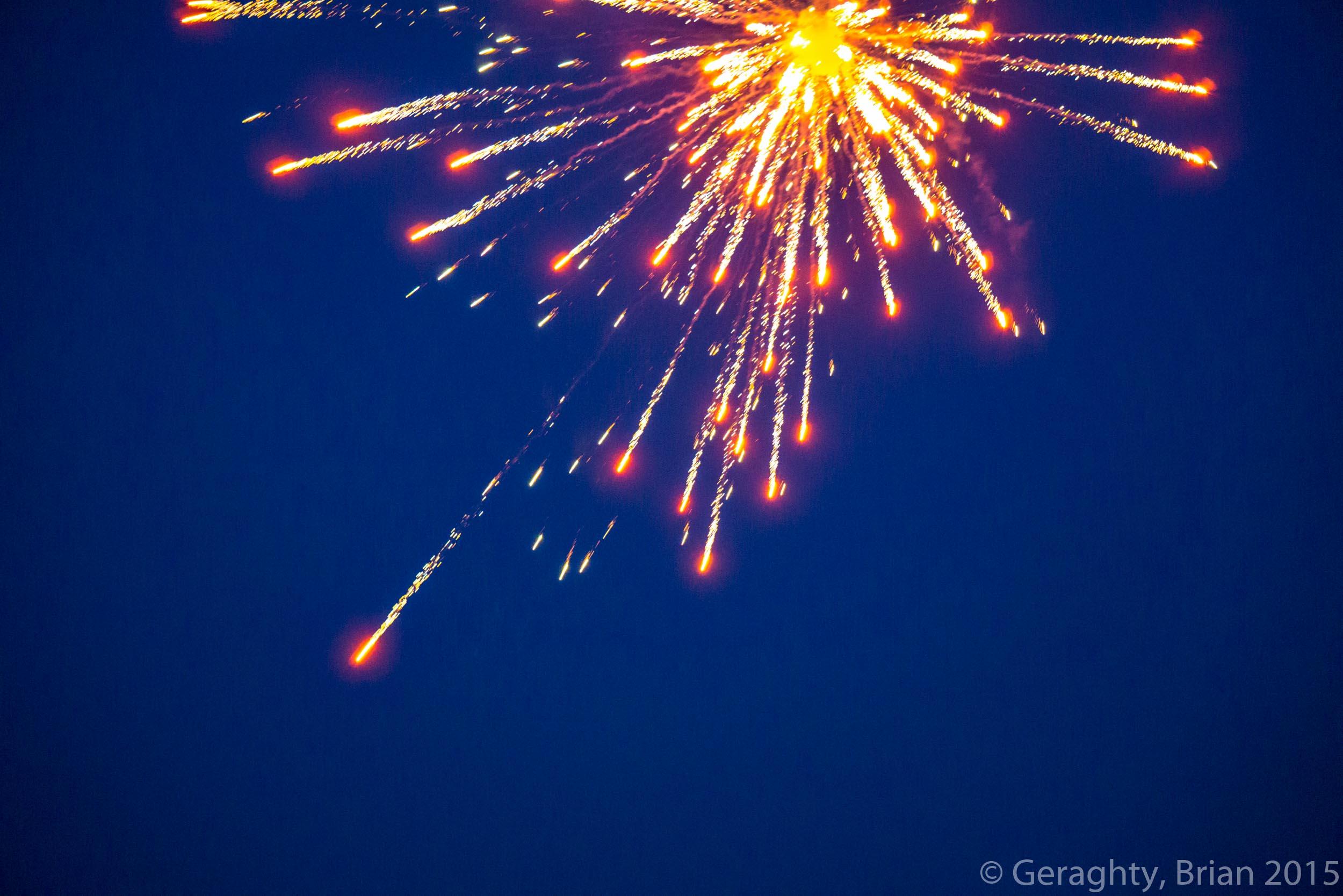 Beach Fireworks Explosion, Explosion, Fireworks, Lights, OBX, HQ Photo