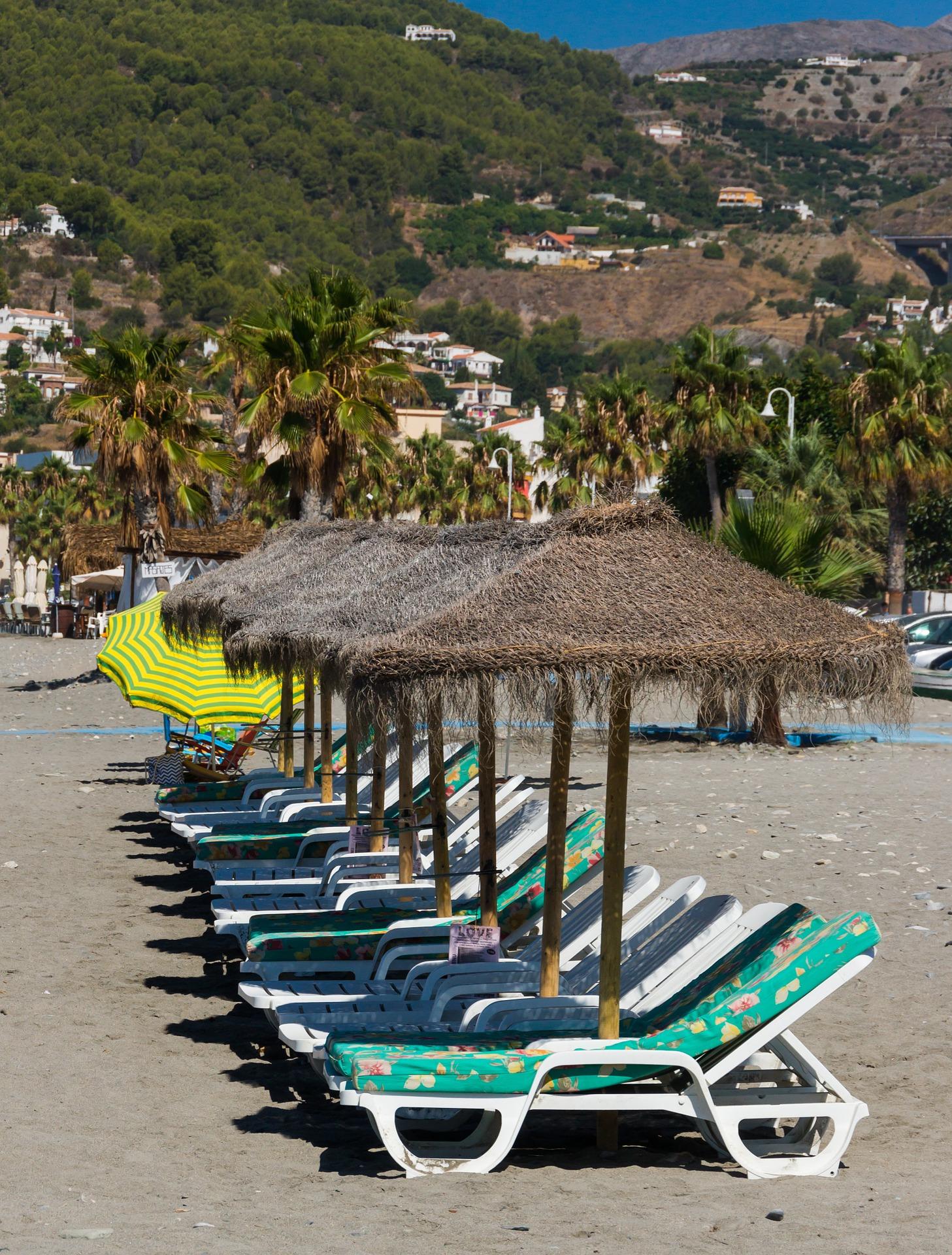 Beach Furniture, Beach, Furniture, Lye, Place, HQ Photo