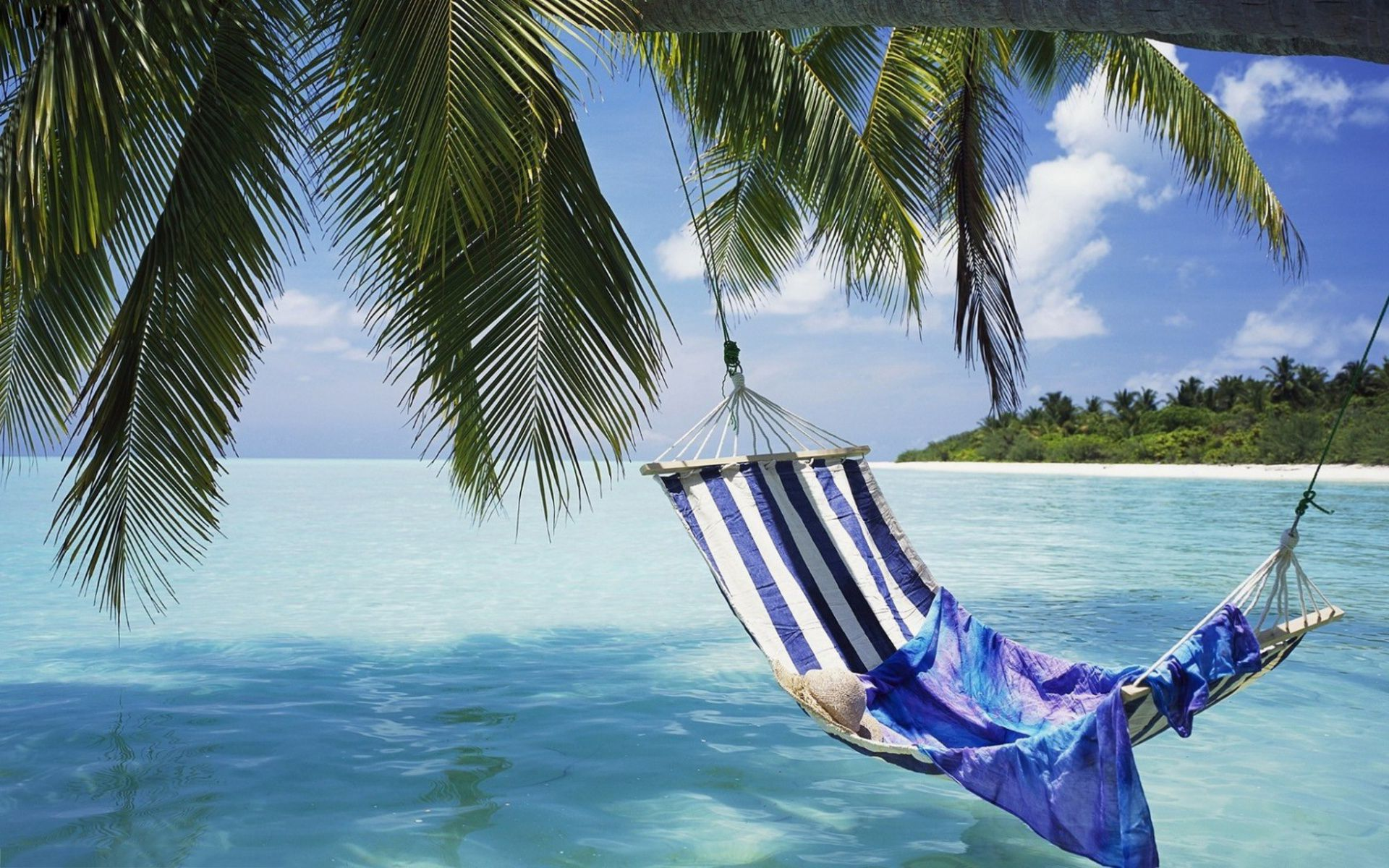 Image for Tropical Beach Hammock Wallpapers HD | Other stuff ...