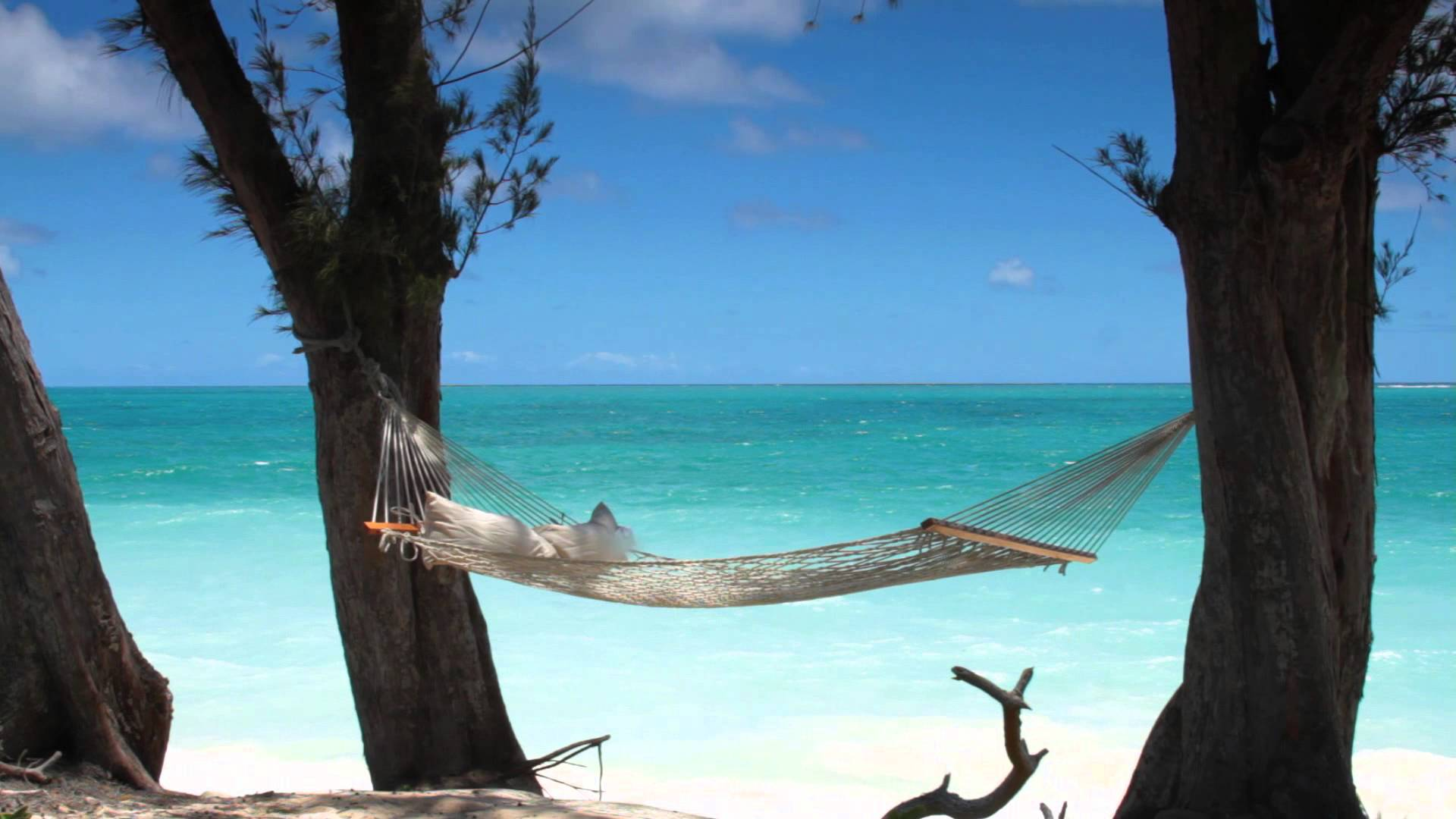 Hammock Escape at Waimanalo Beach in Oahu - YouTube