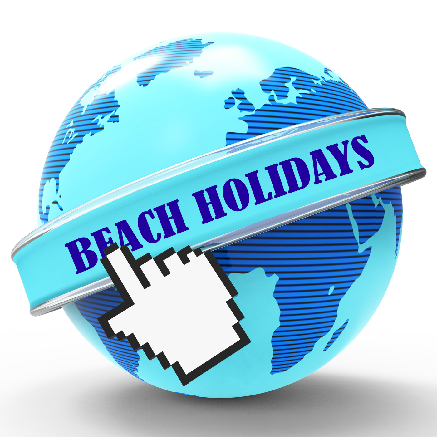 Beach Holidays Shows Vacation Seaside And Coasts, Beach, Seafront, Vacationing, Vacational, HQ Photo