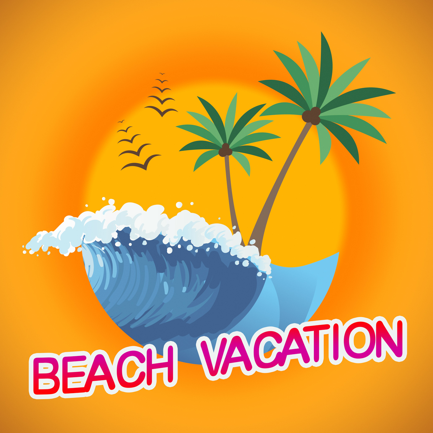 Beach Vacation Represents Beaches Warmth And Seaside, Beach, Beaches, Break, Getaway, HQ Photo
