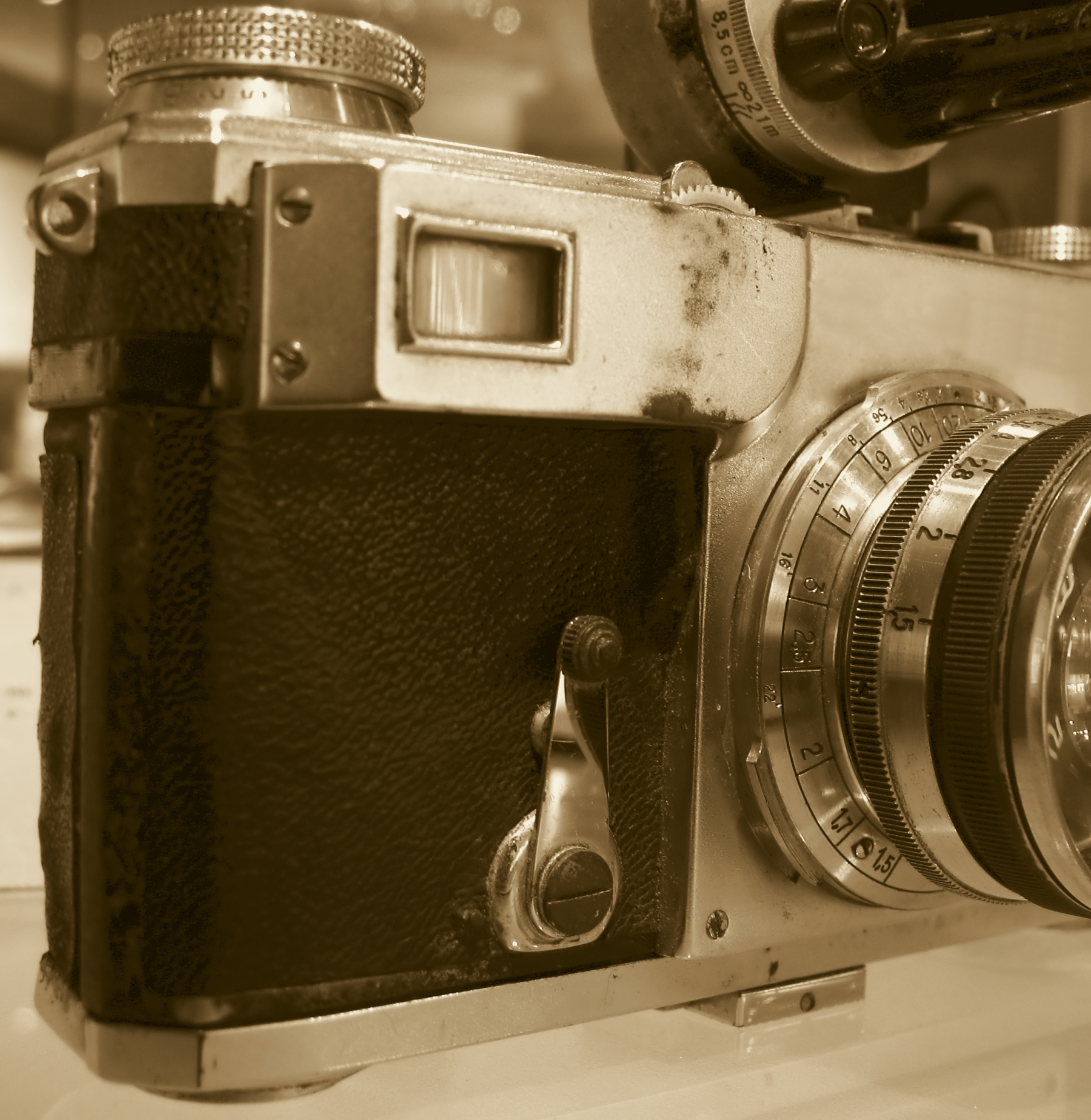 Beat Up Old Camera, Antique, Obsolete, Viewfinder, Switch, HQ Photo