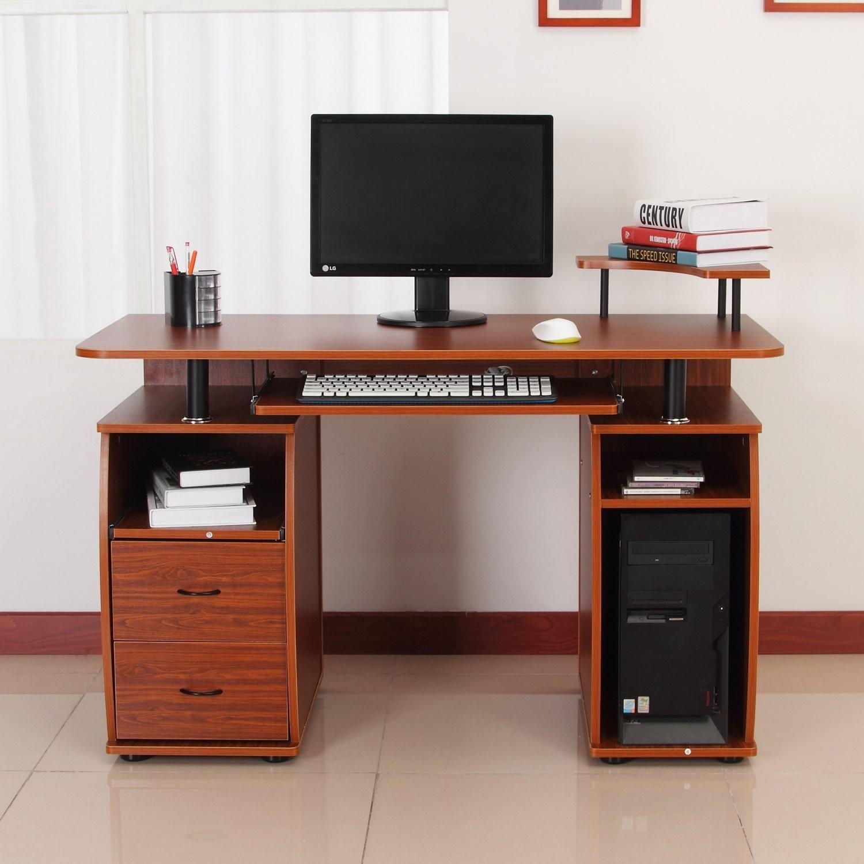 Beautiful computer table photo