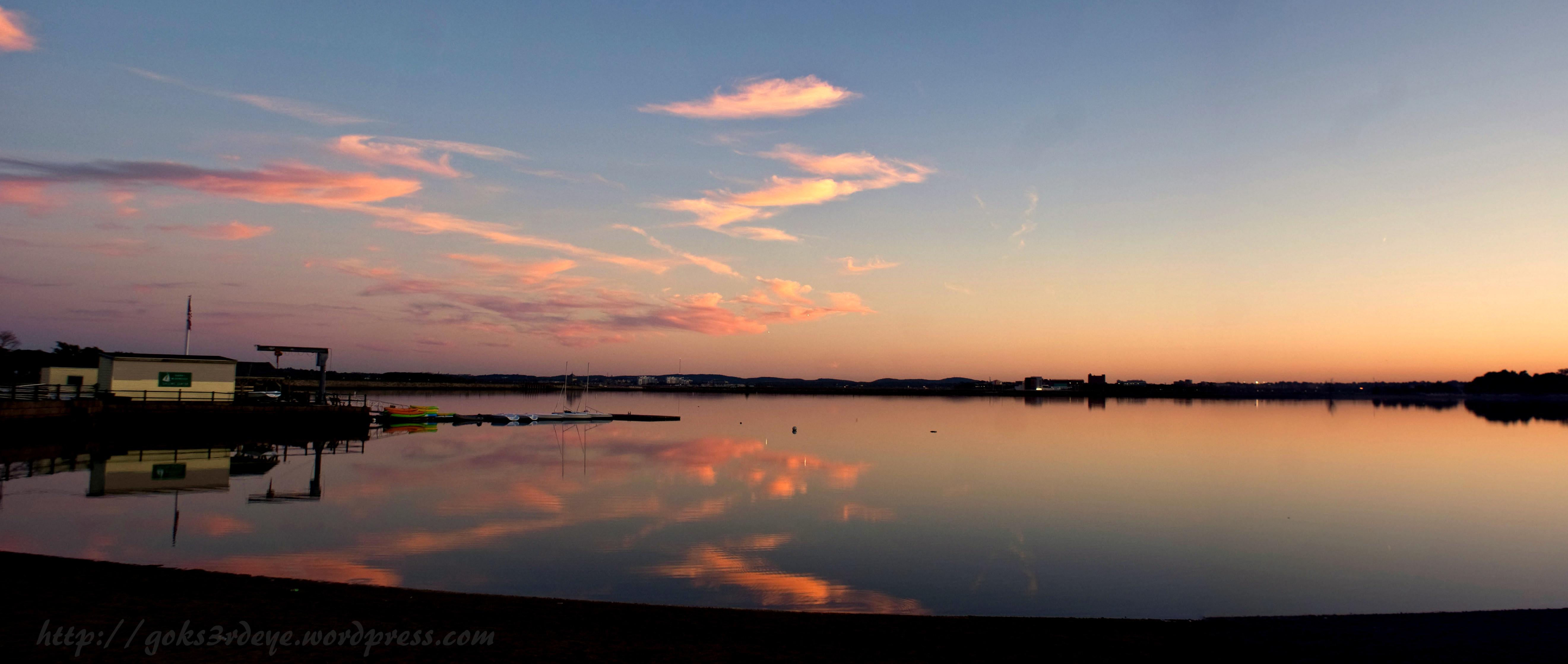Beautiful Evening Sky Reflection | The Sensations