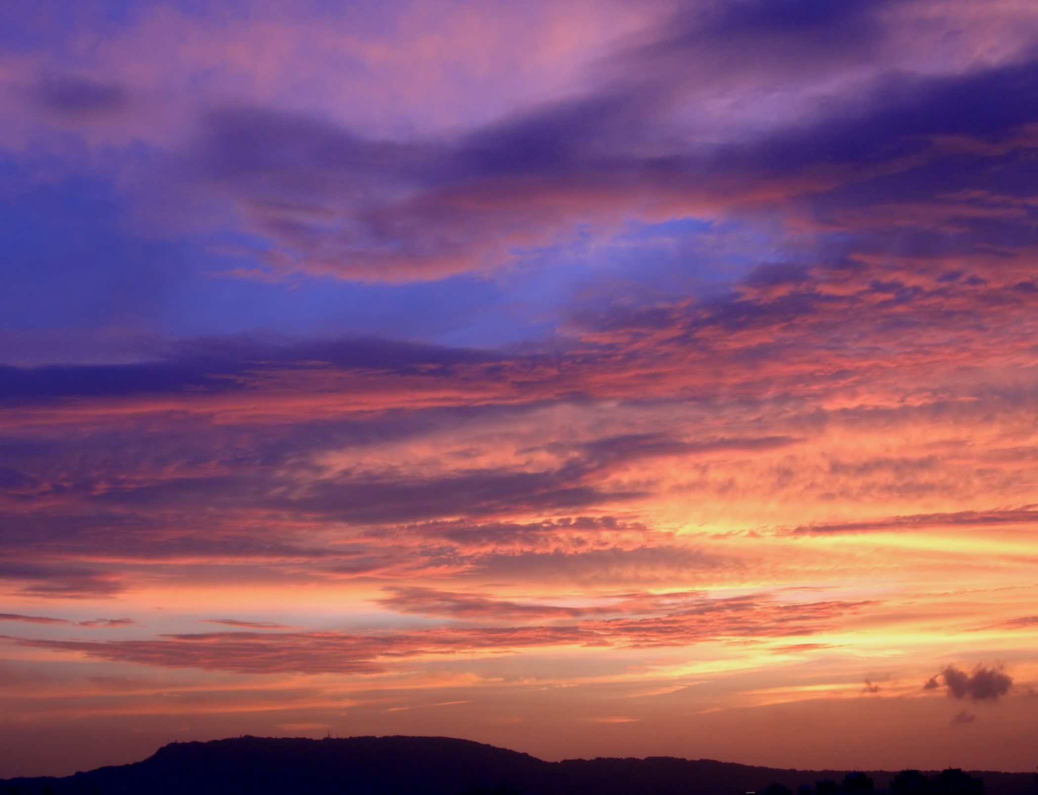 Beautiful Evening Sky, Afternoon, Red, Tropics, Sunset, HQ Photo