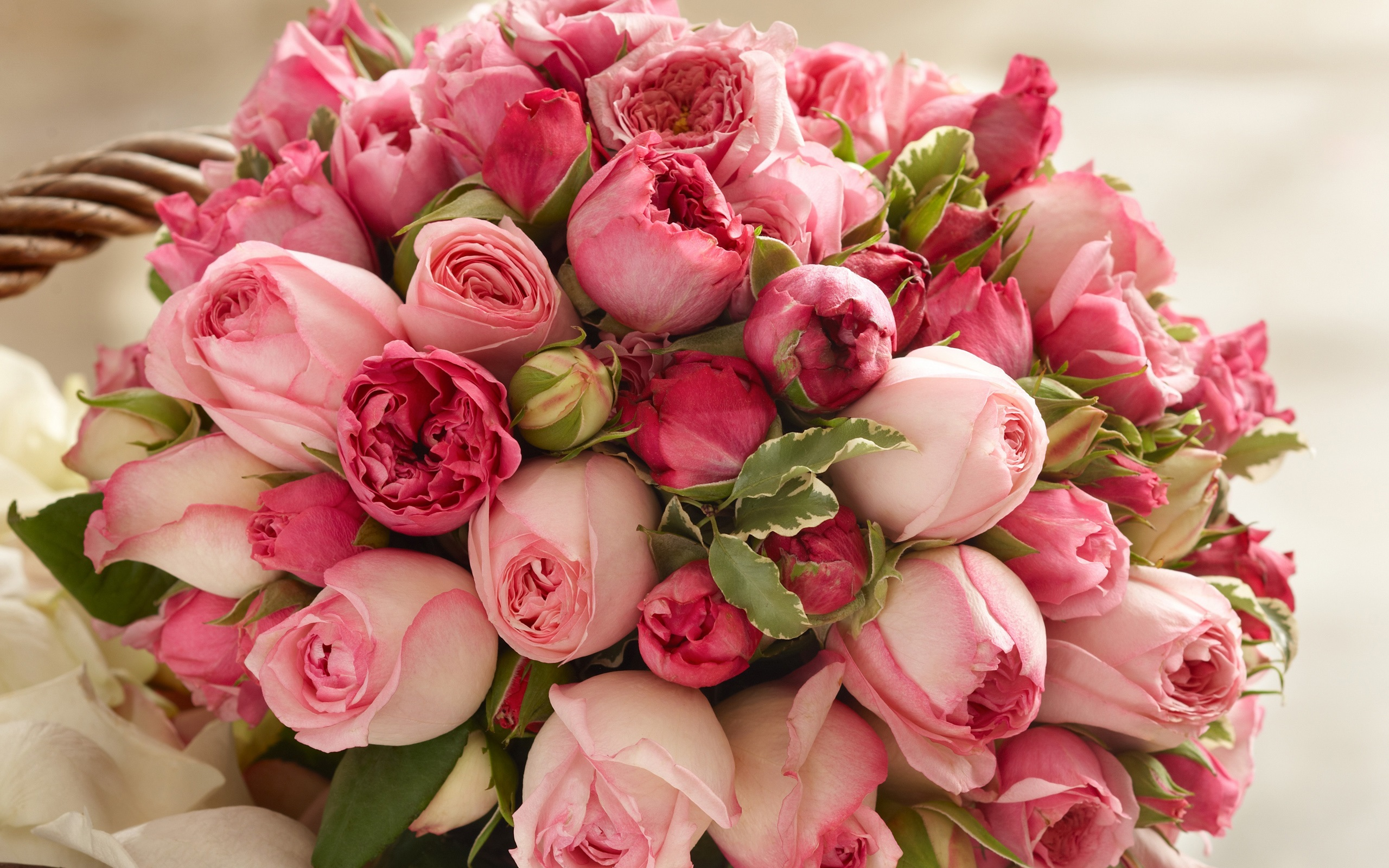 Free photo: Beautiful Flower bouquet - Rose, White, Pink - Free ...